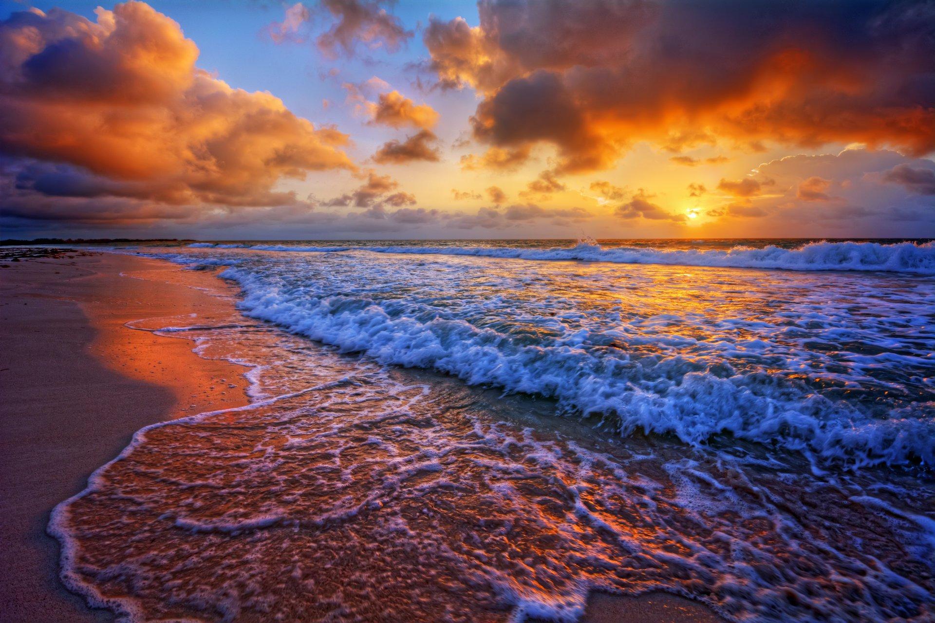 бог красивые фото море закат для фейсбук солнце нас