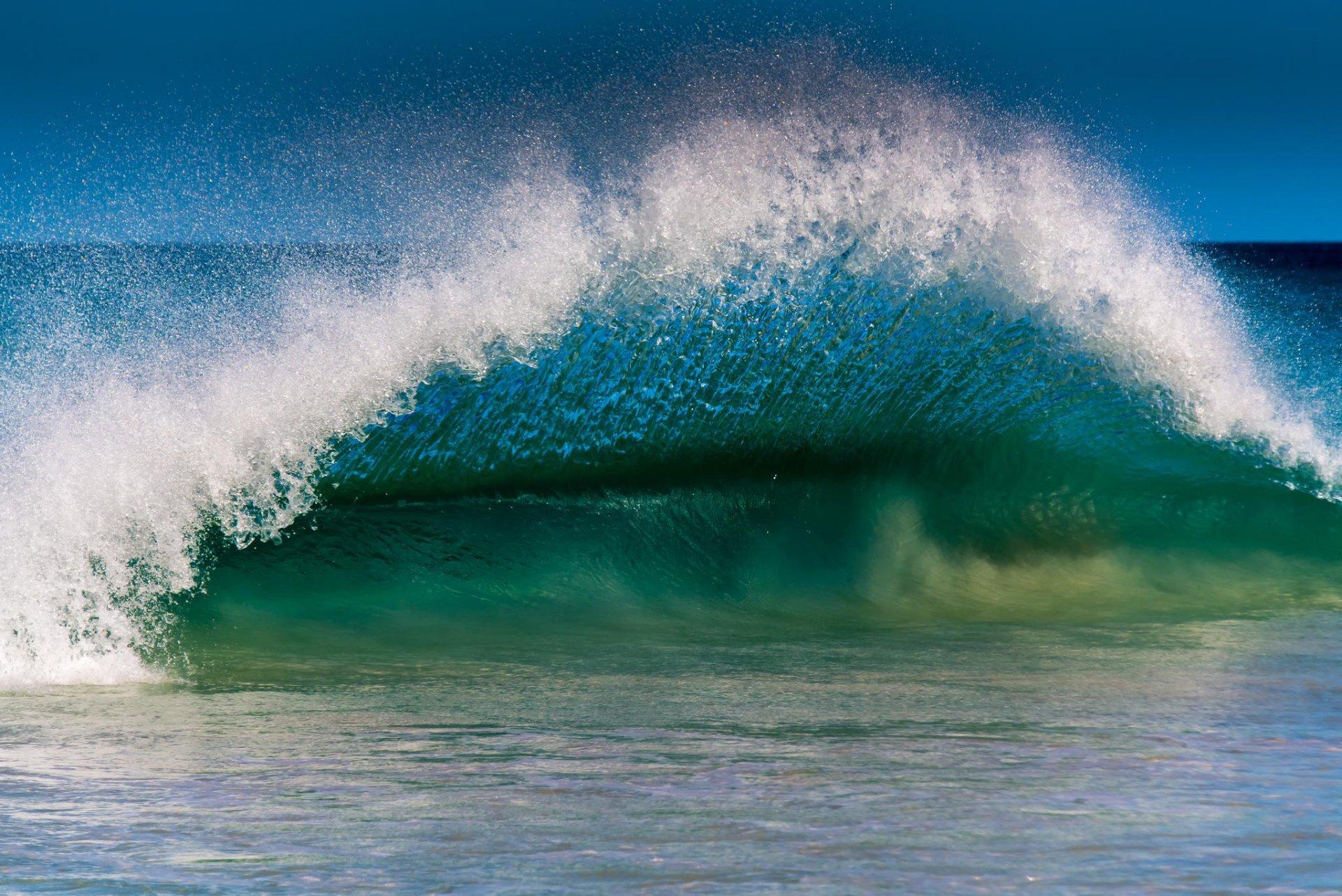 Открытка, картинки морская волна изумрудная