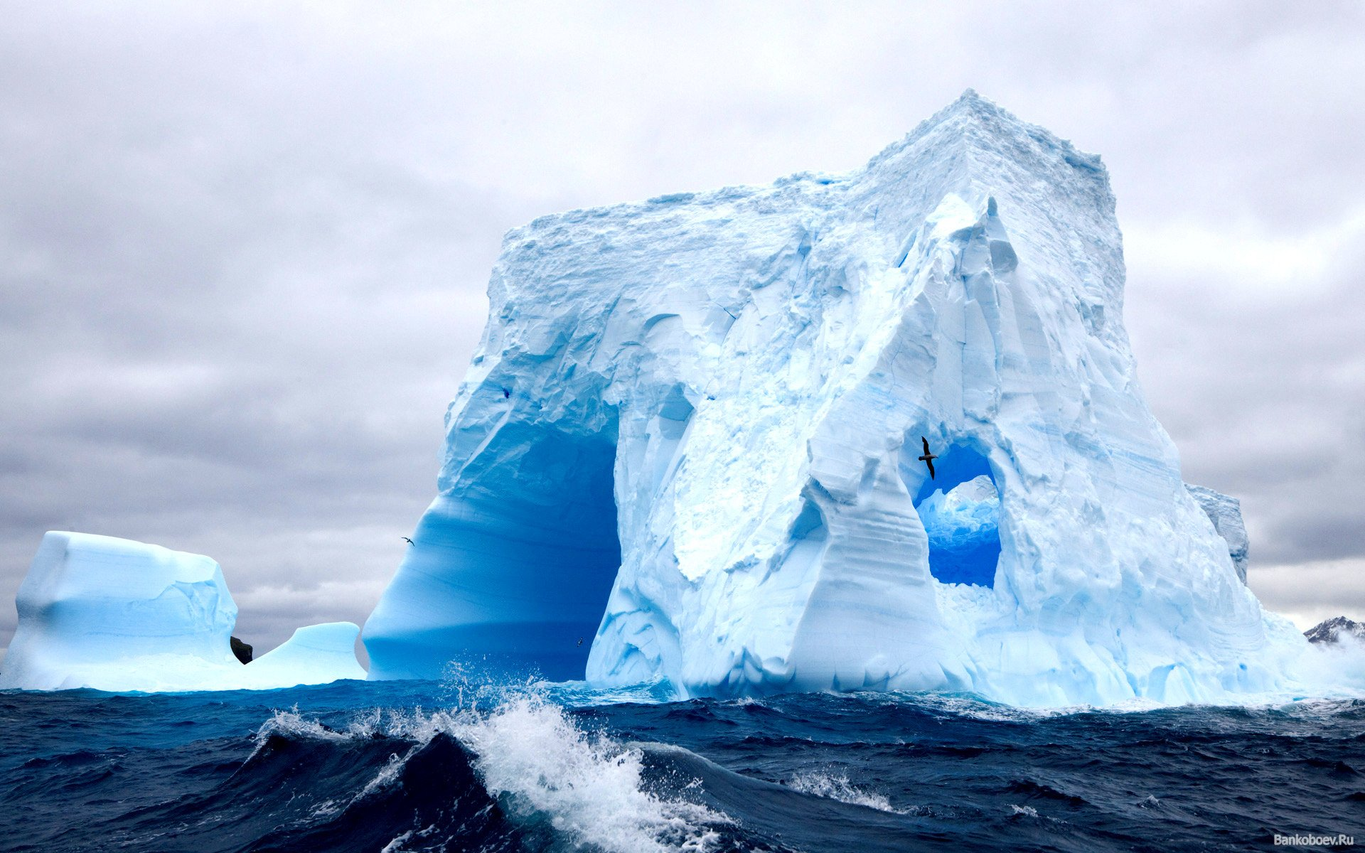 a metaphor for life in the iceberg by charles roberts