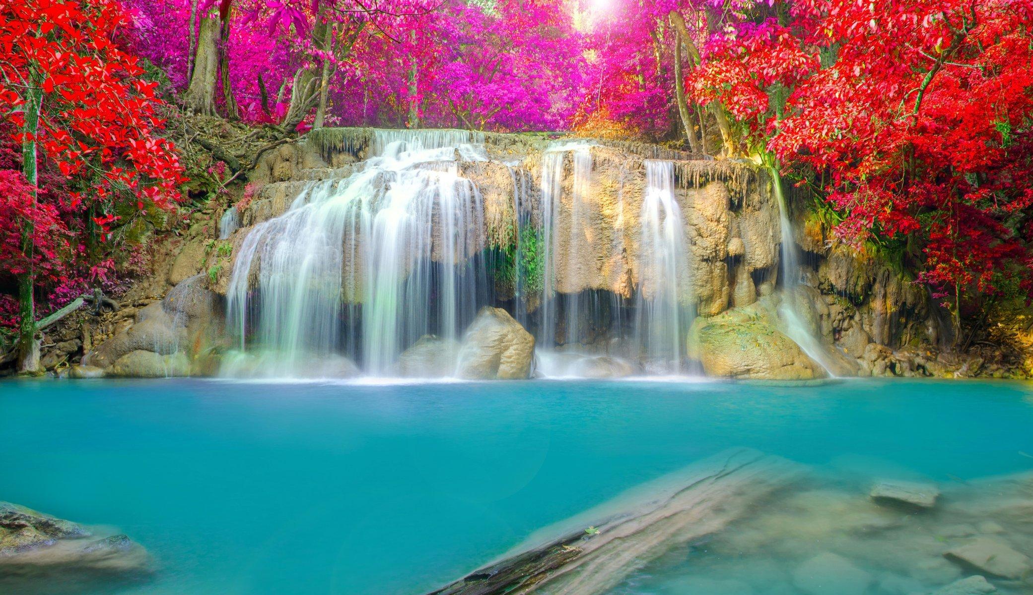 Обои водопад. Природа foto 17