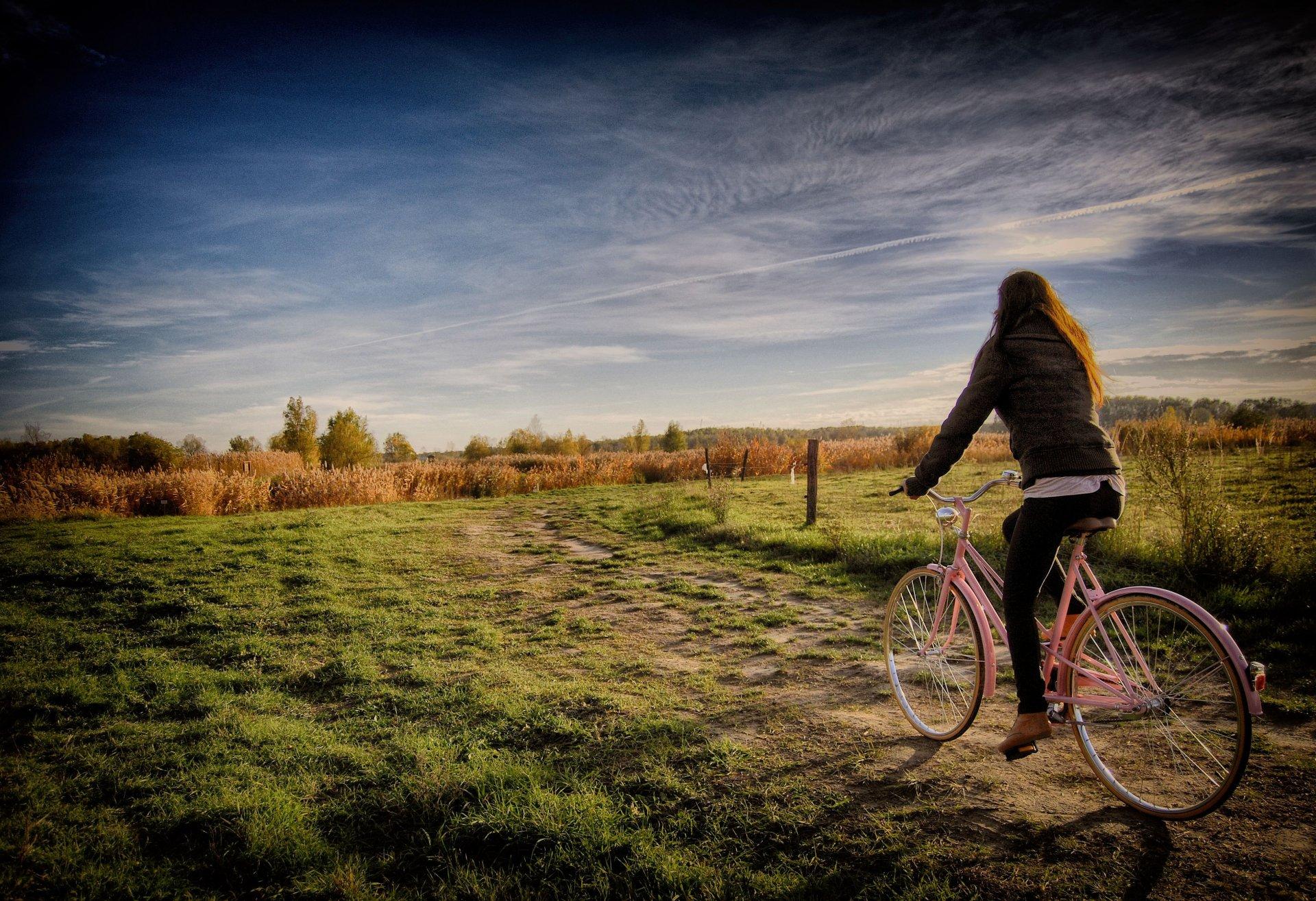 Обои стоянка, велосипед. Разное foto 18