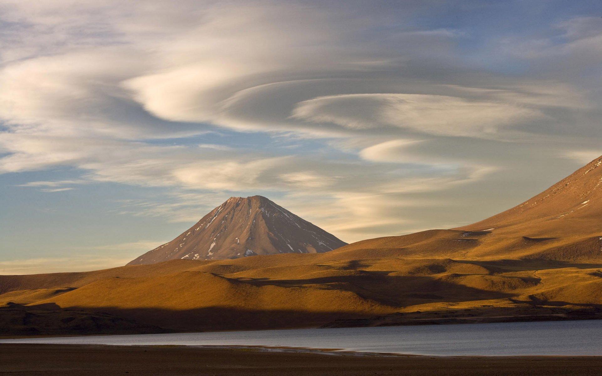 горы склон небо загрузить