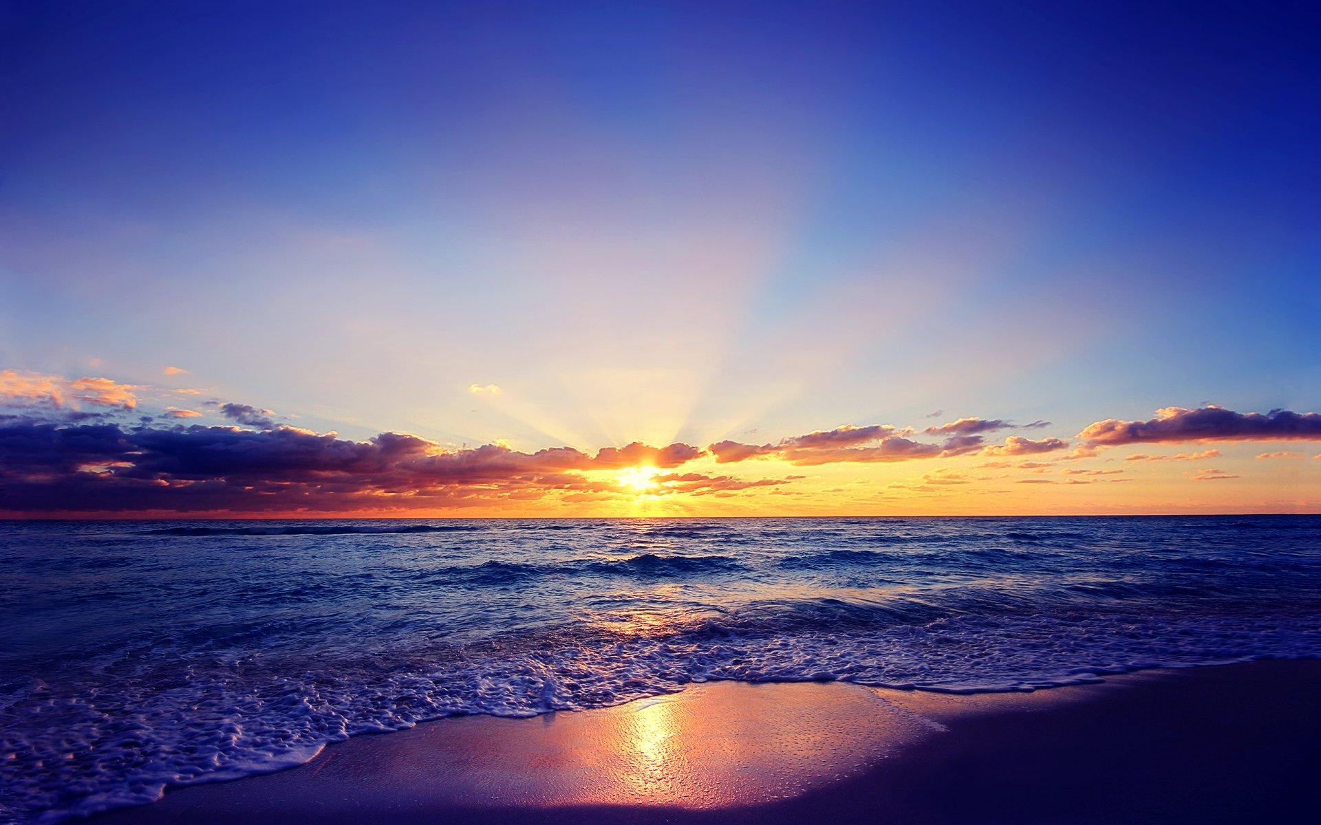 Картинки рассвет на море в хорошем качестве