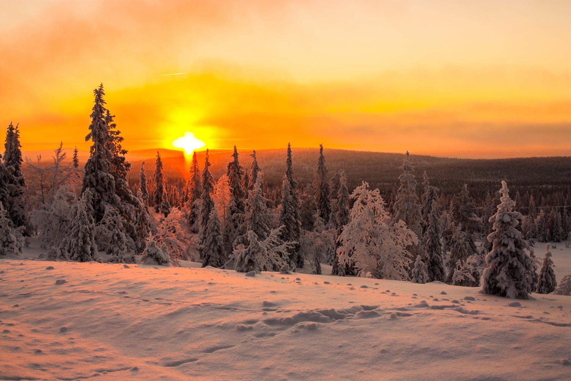 закаты зимой картинки этот период гжели