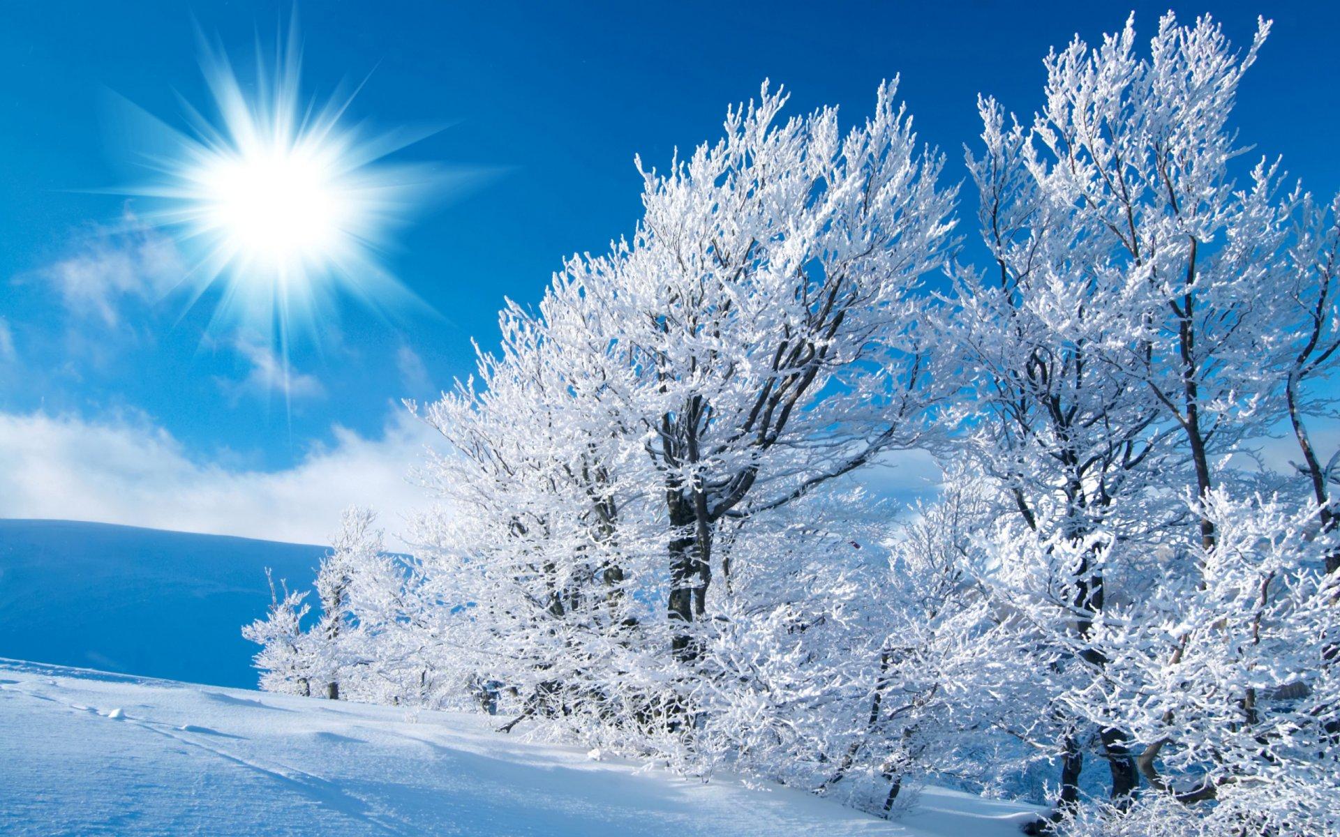 махровая картинка на экран компьютера зима добраться