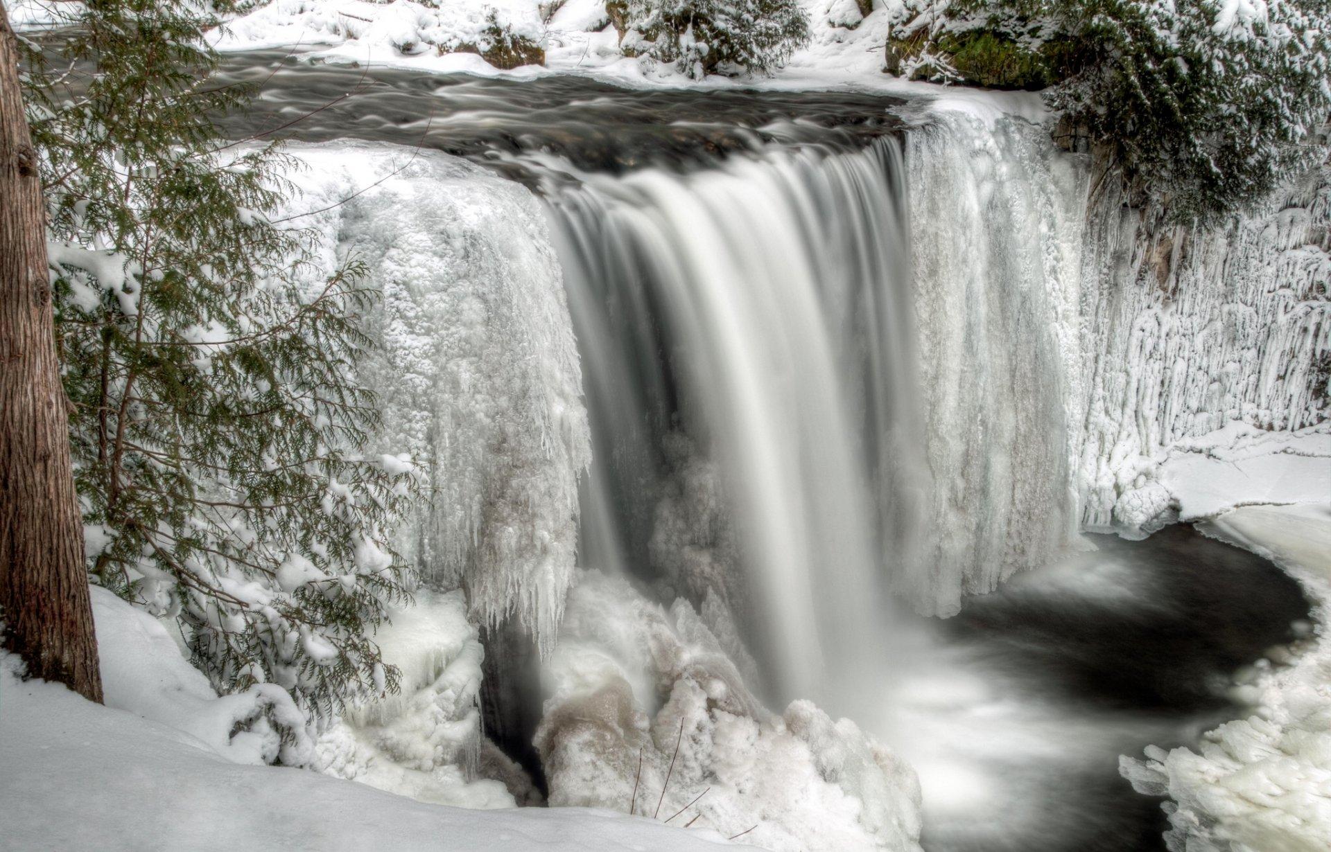 худая фото зимних водопадов родители были