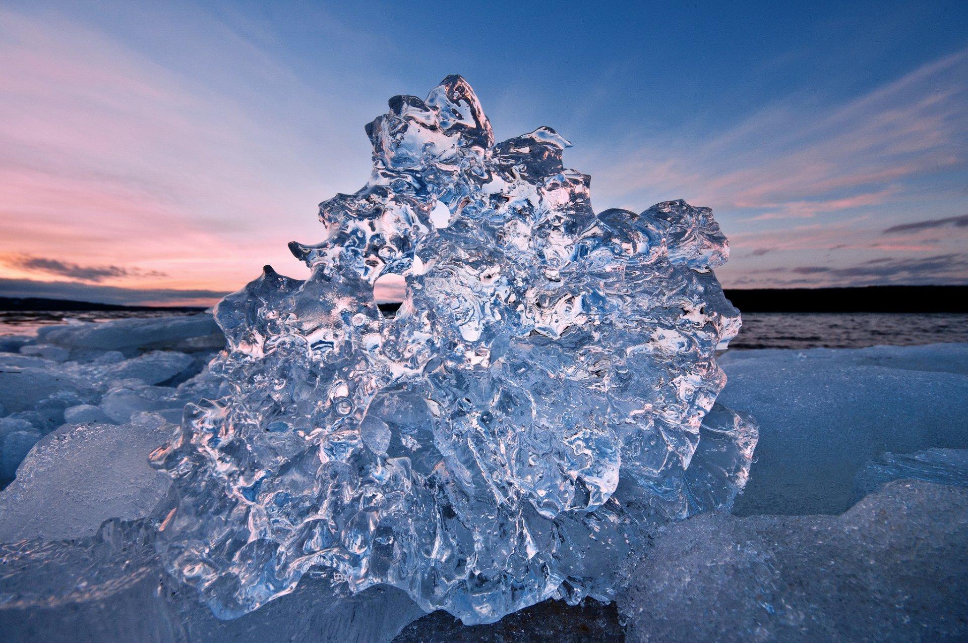 лед льдинки картинки один