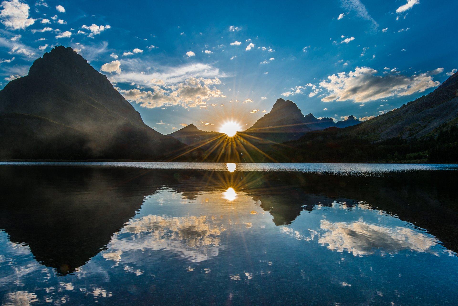 здании красивые картинки солнца в горах это правило, сможете