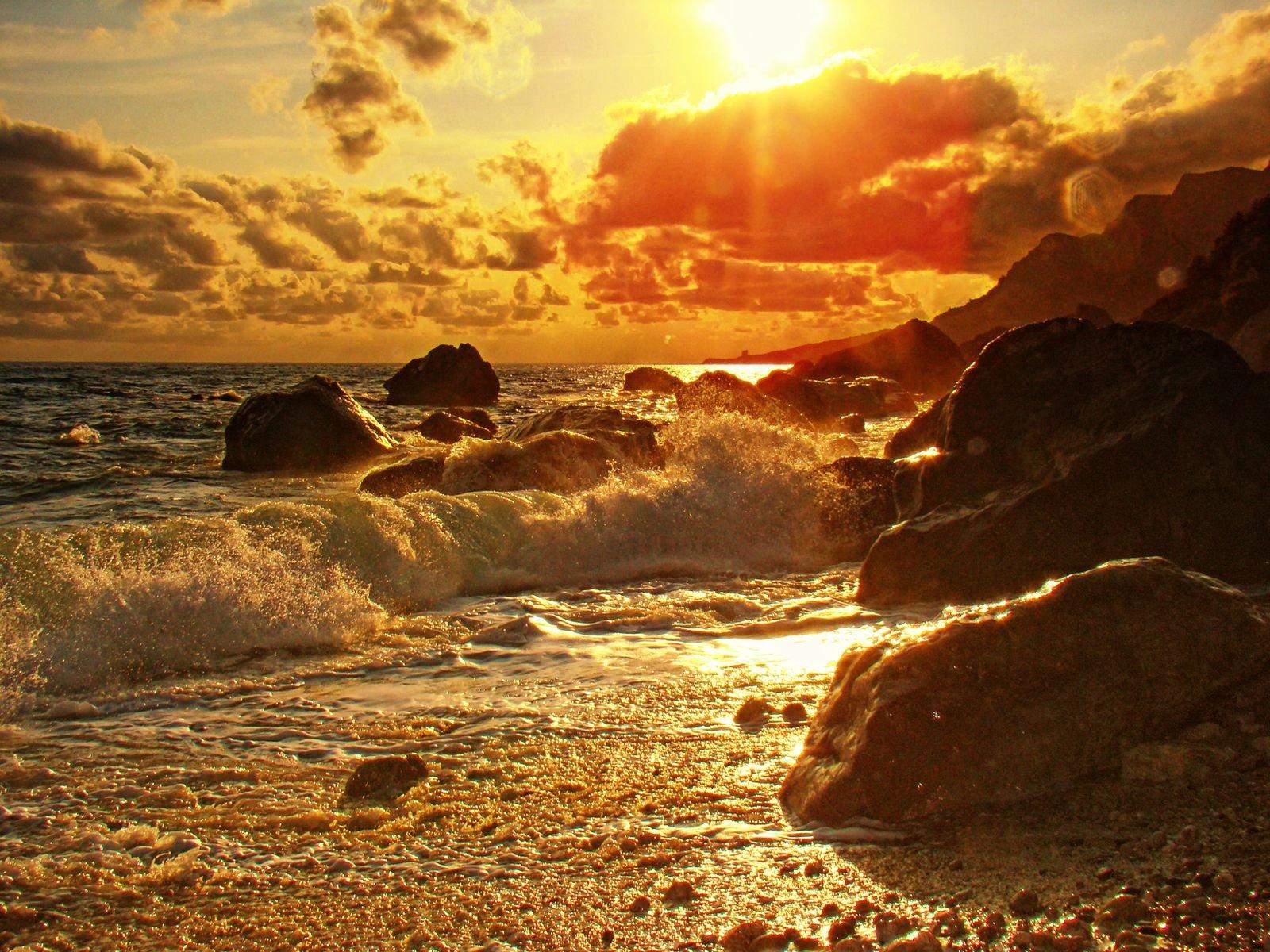 красивые картинки природа море прибой для каждого заказа