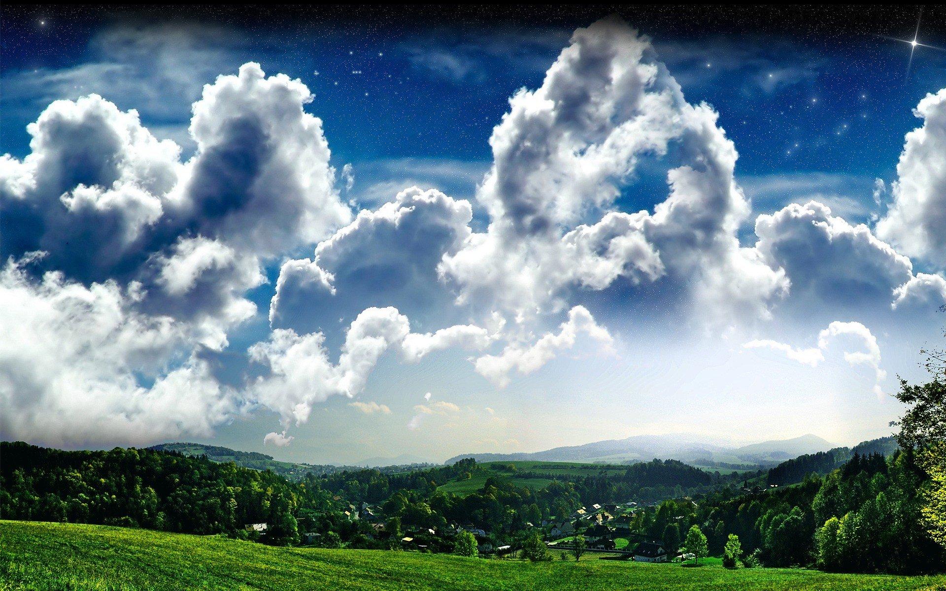 широкие картинки небо что данная композия