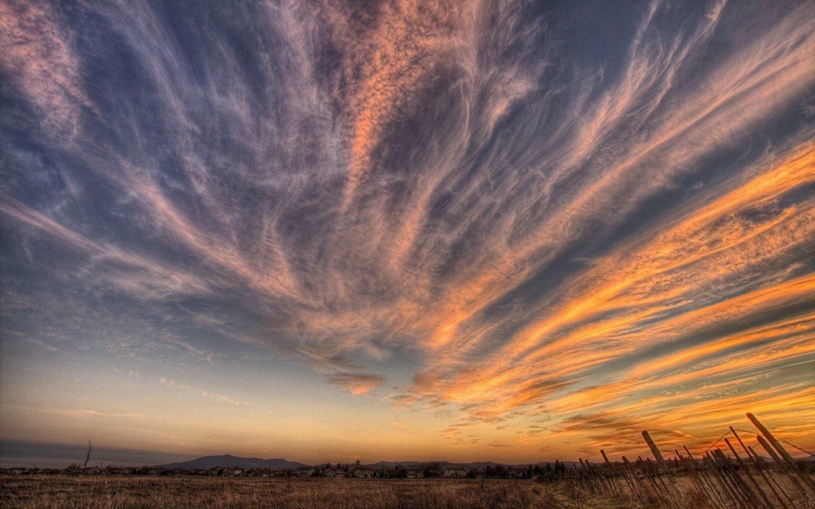 природа страны архитектура закат небо облака загрузить