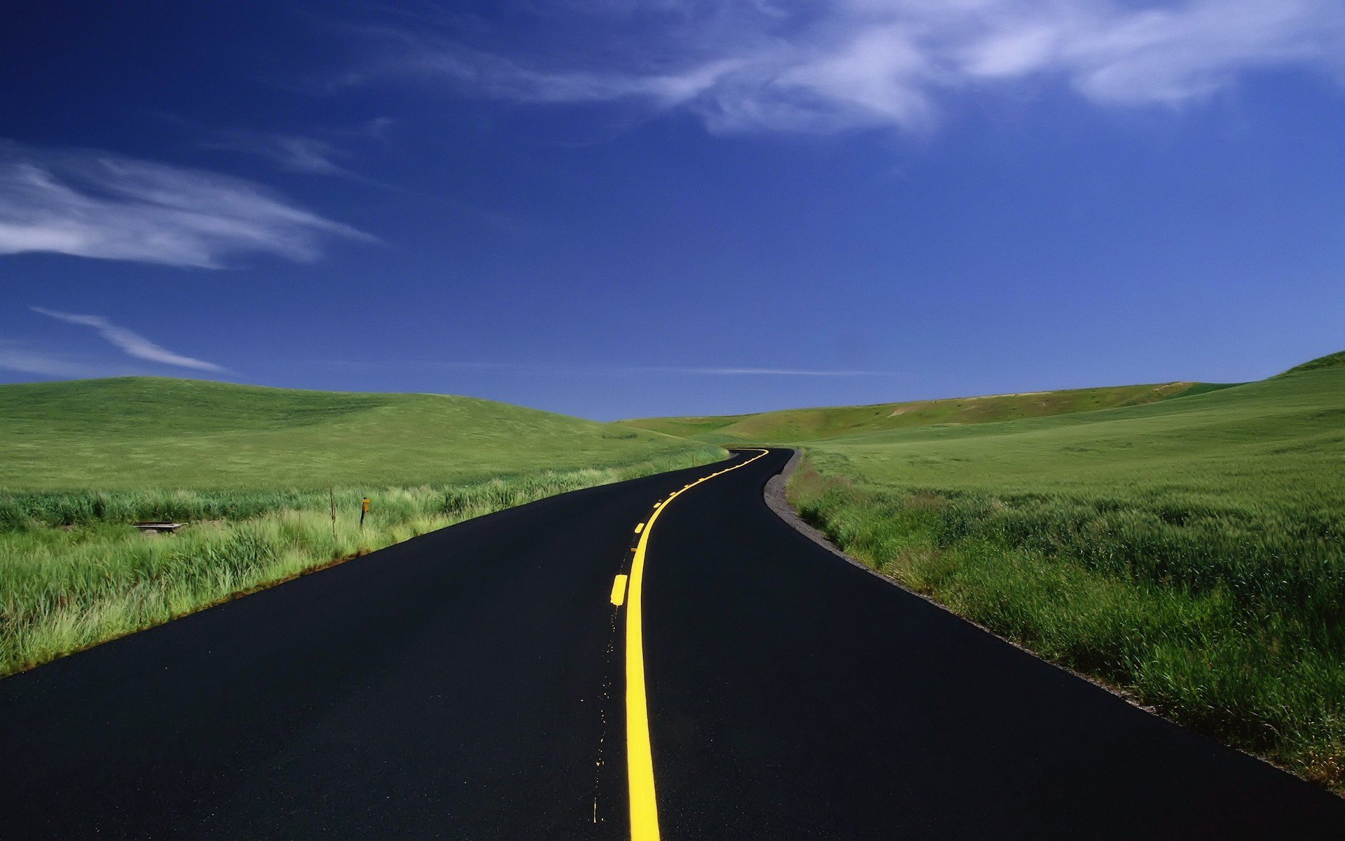 дорога даль холмы  № 788007 без смс
