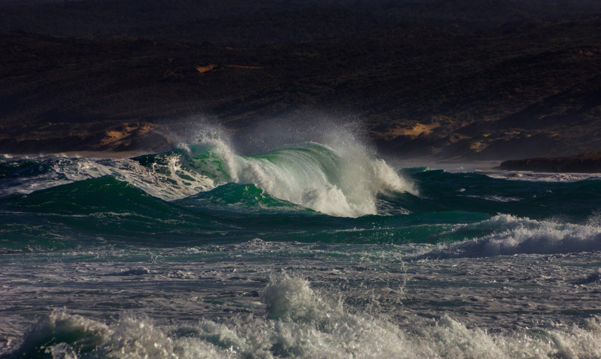 размеры океан в шторм фото для