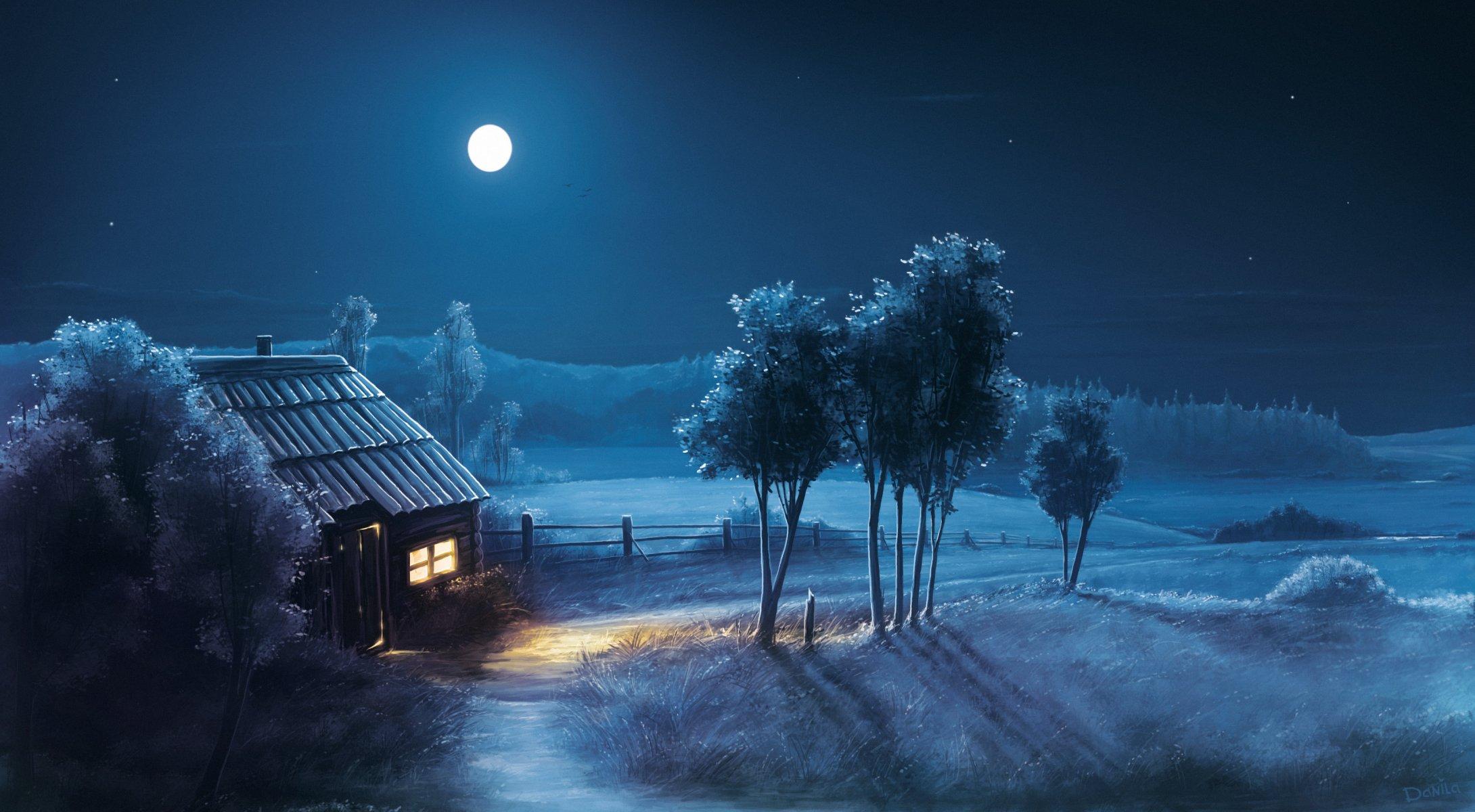 Картинки природа ночью красота