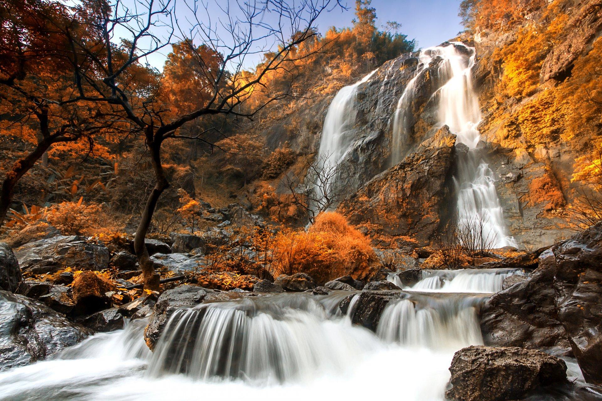 этом осенний водопад фото вас