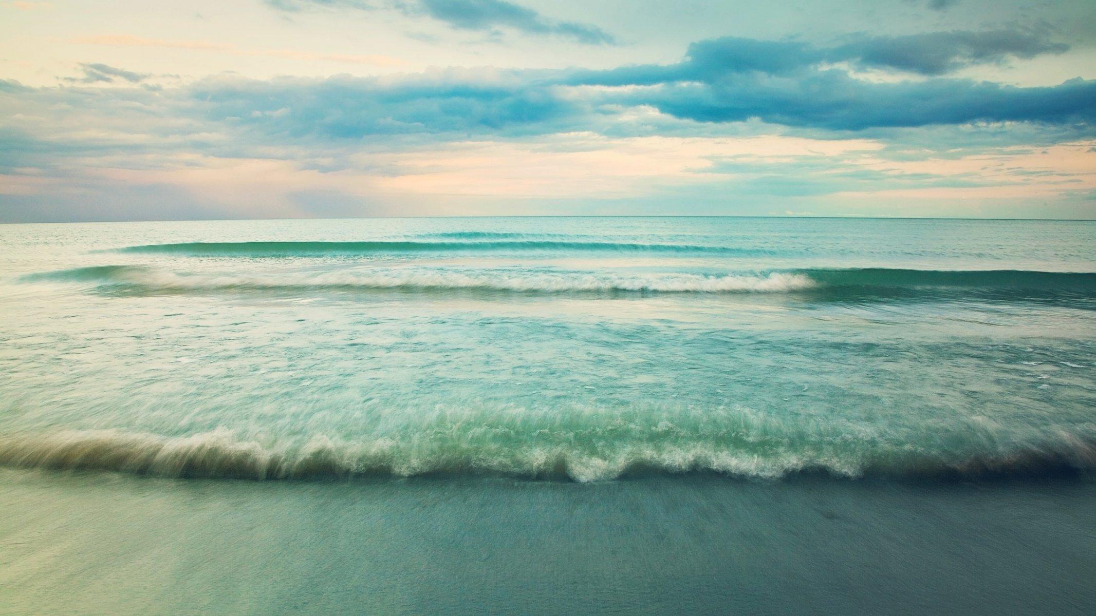 природа волна радуга вода  № 1039588 бесплатно