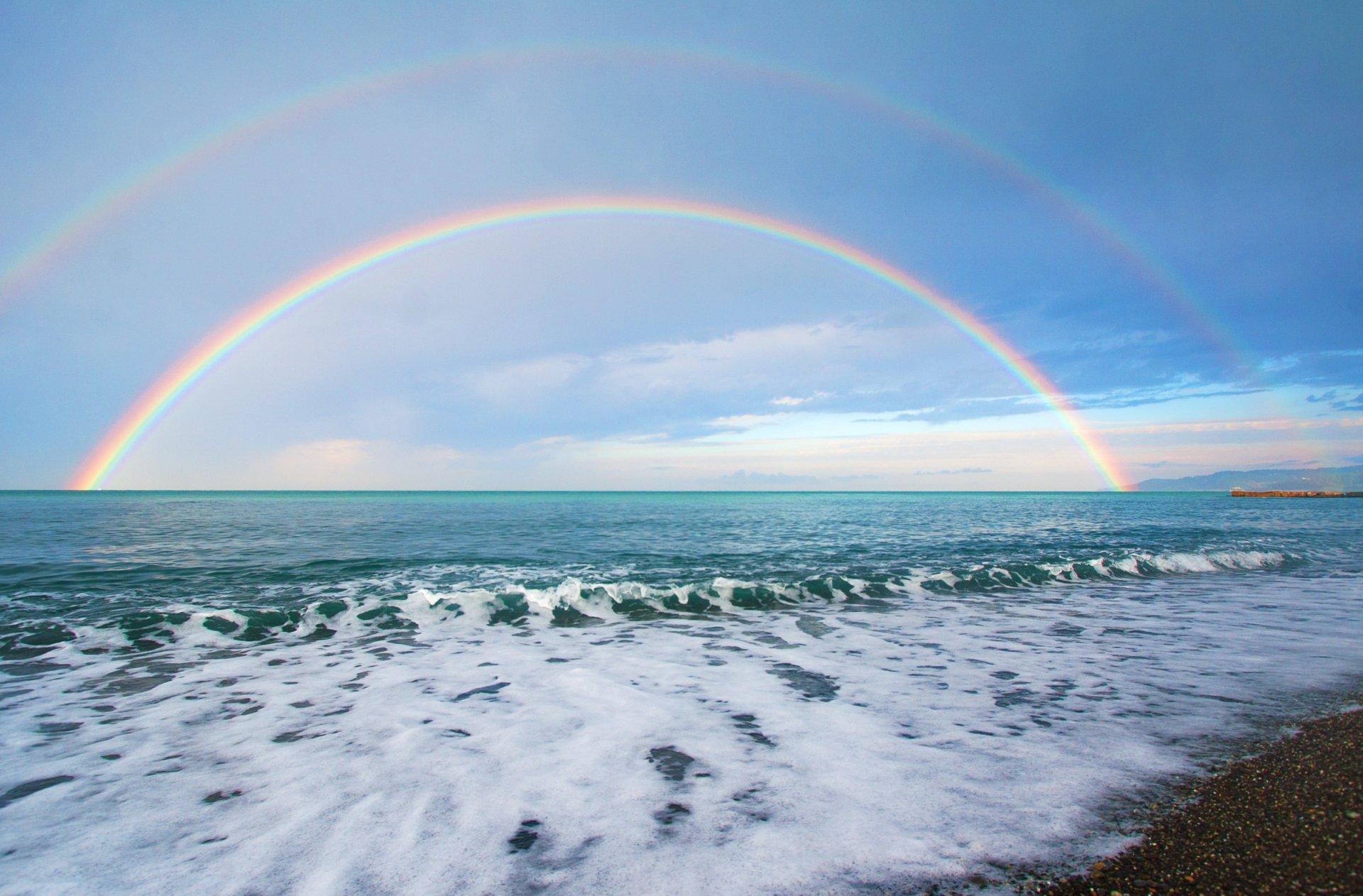 Обои волны, горизонт. Природа foto 13