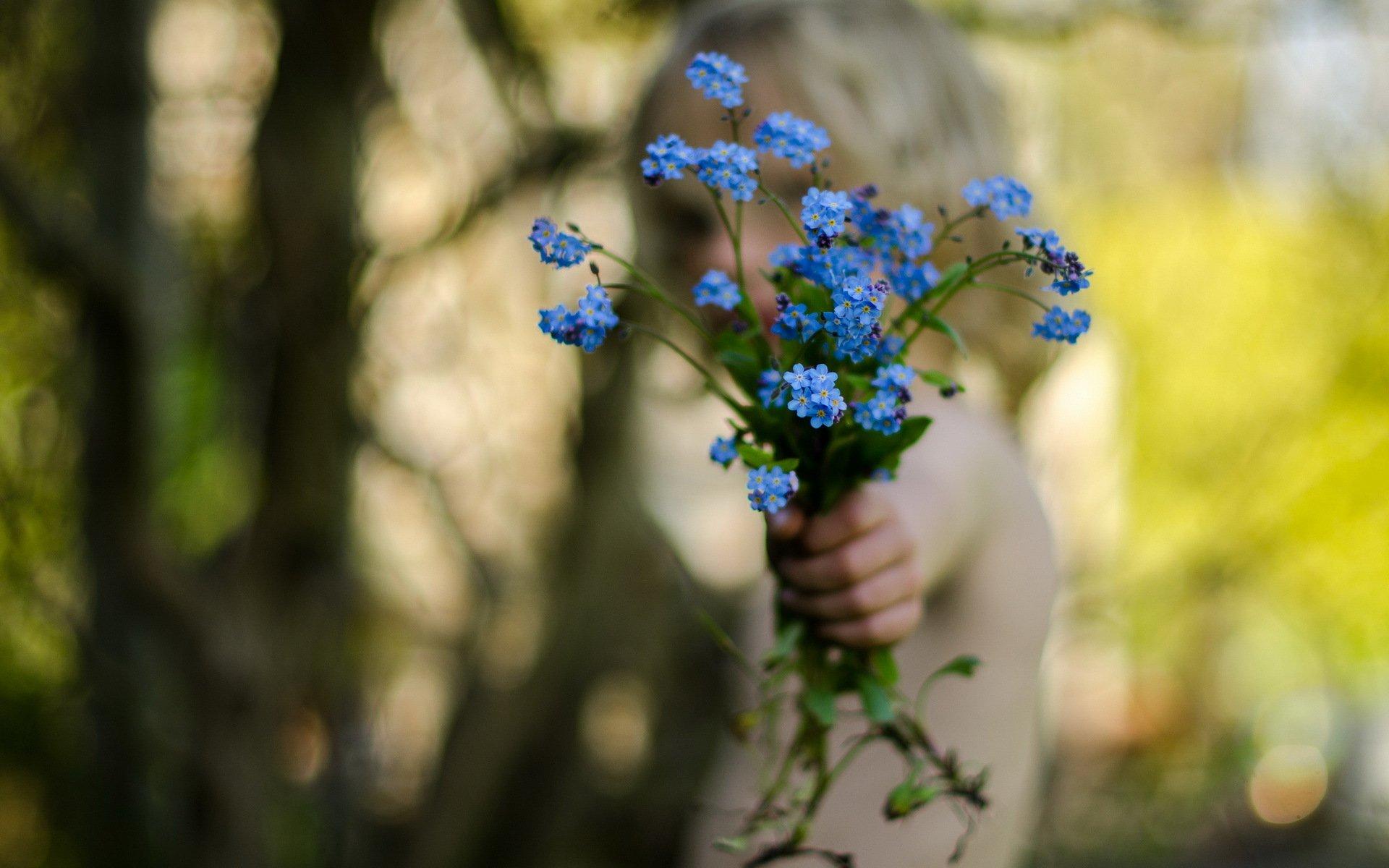 Рука, цветок бесплатно