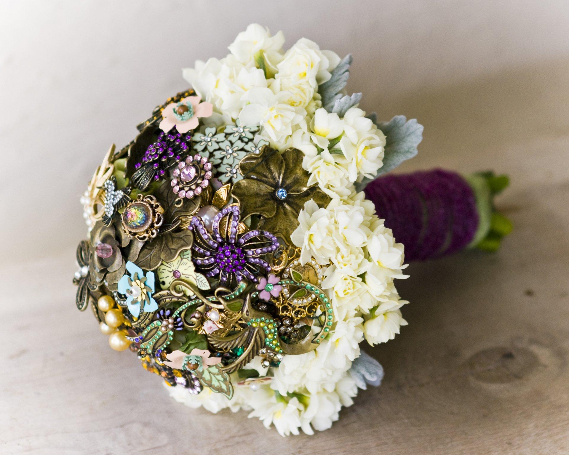 Редкий букет невесты фотографии
