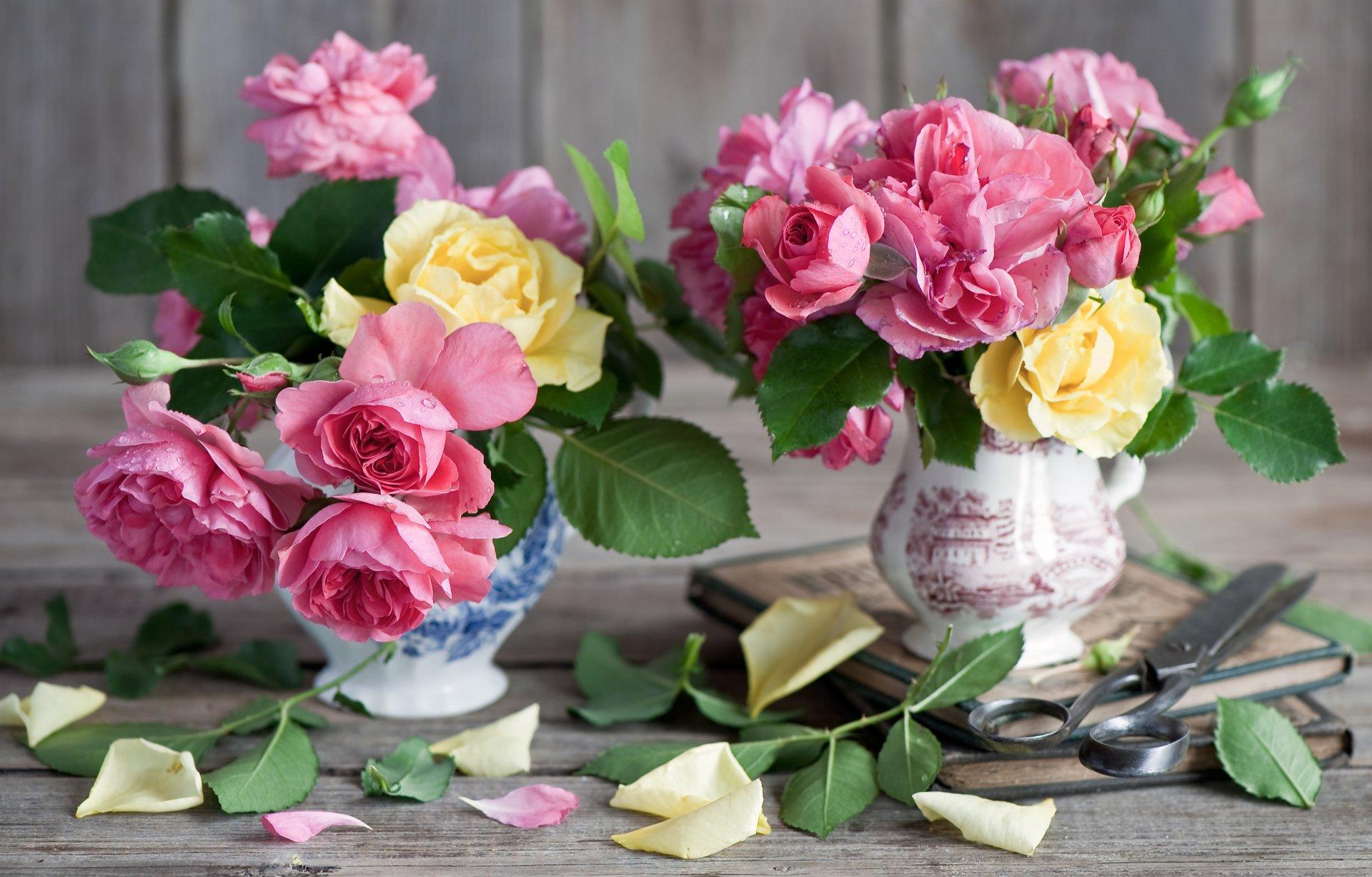 Картинки красивых цветов в вазах