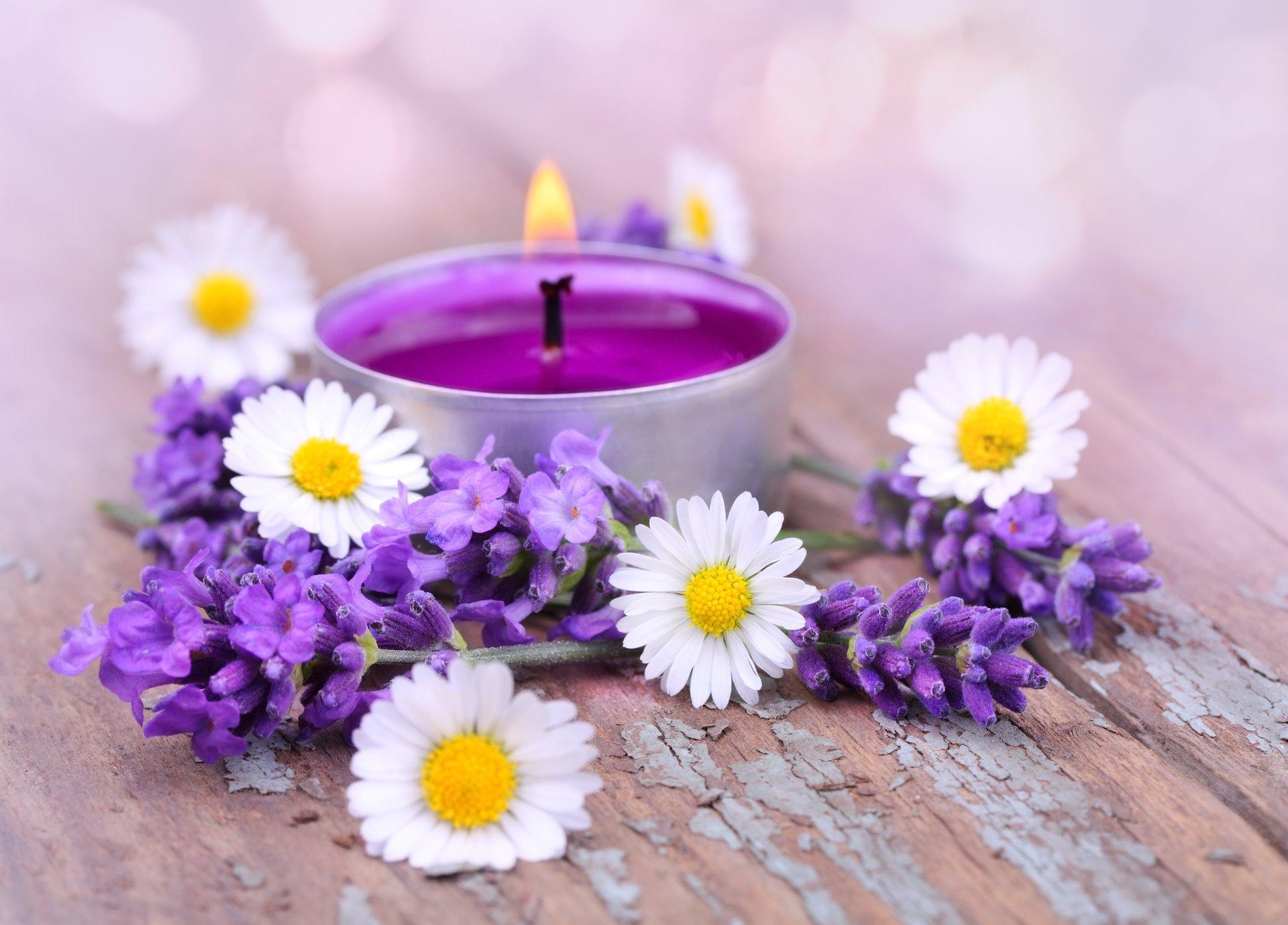 Картинки цветы и свечи, открытки
