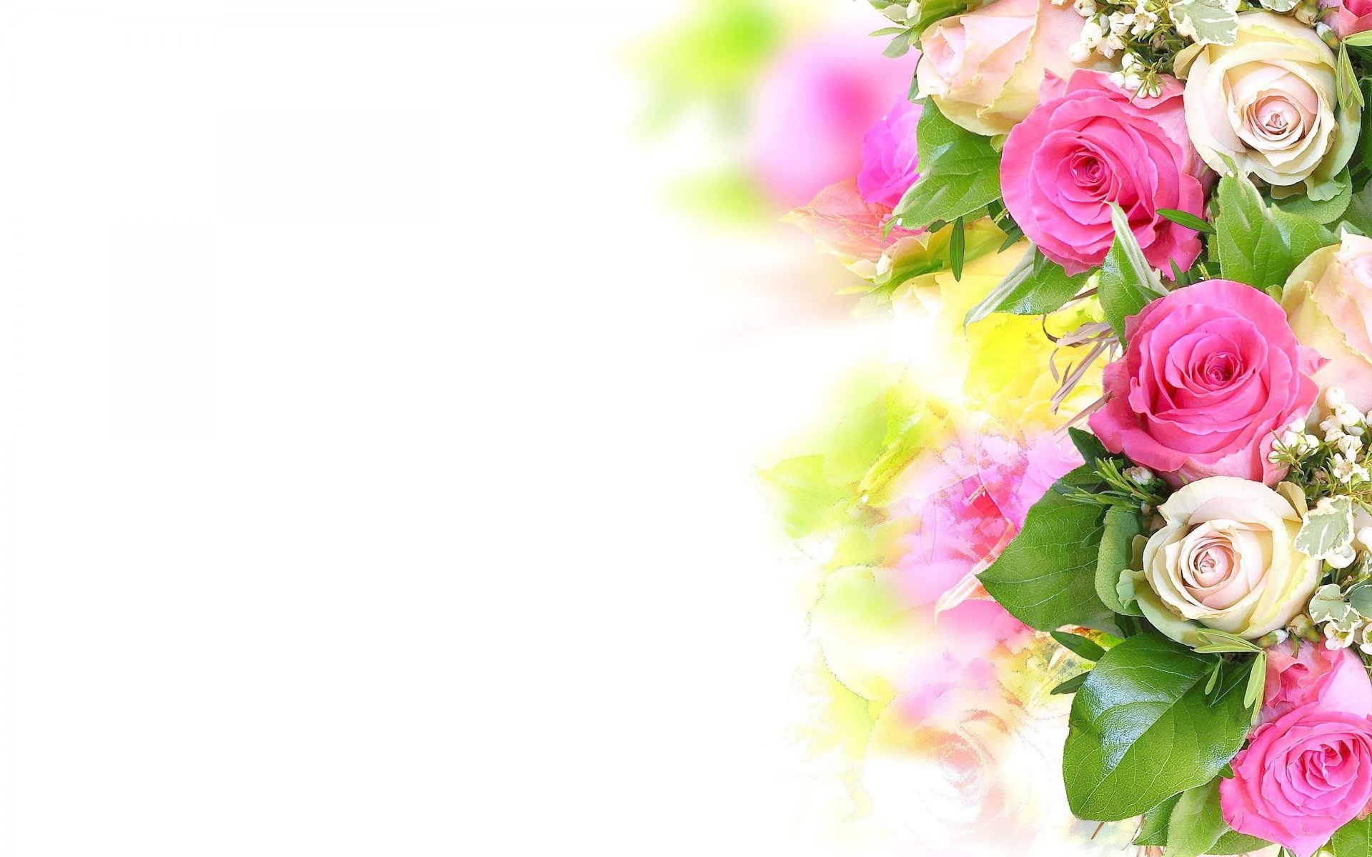 Стих к поздравлению цветы 947