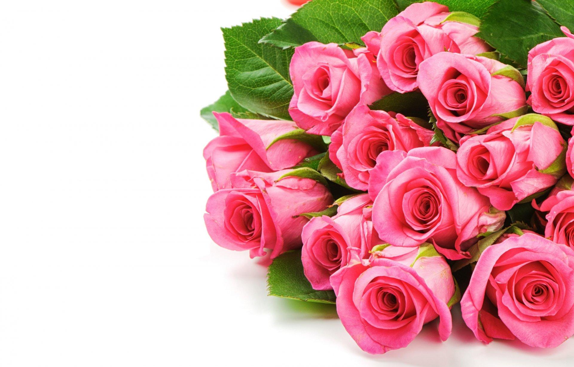 Картинка с цветами на поздравление, для мужчины-коллеги днем