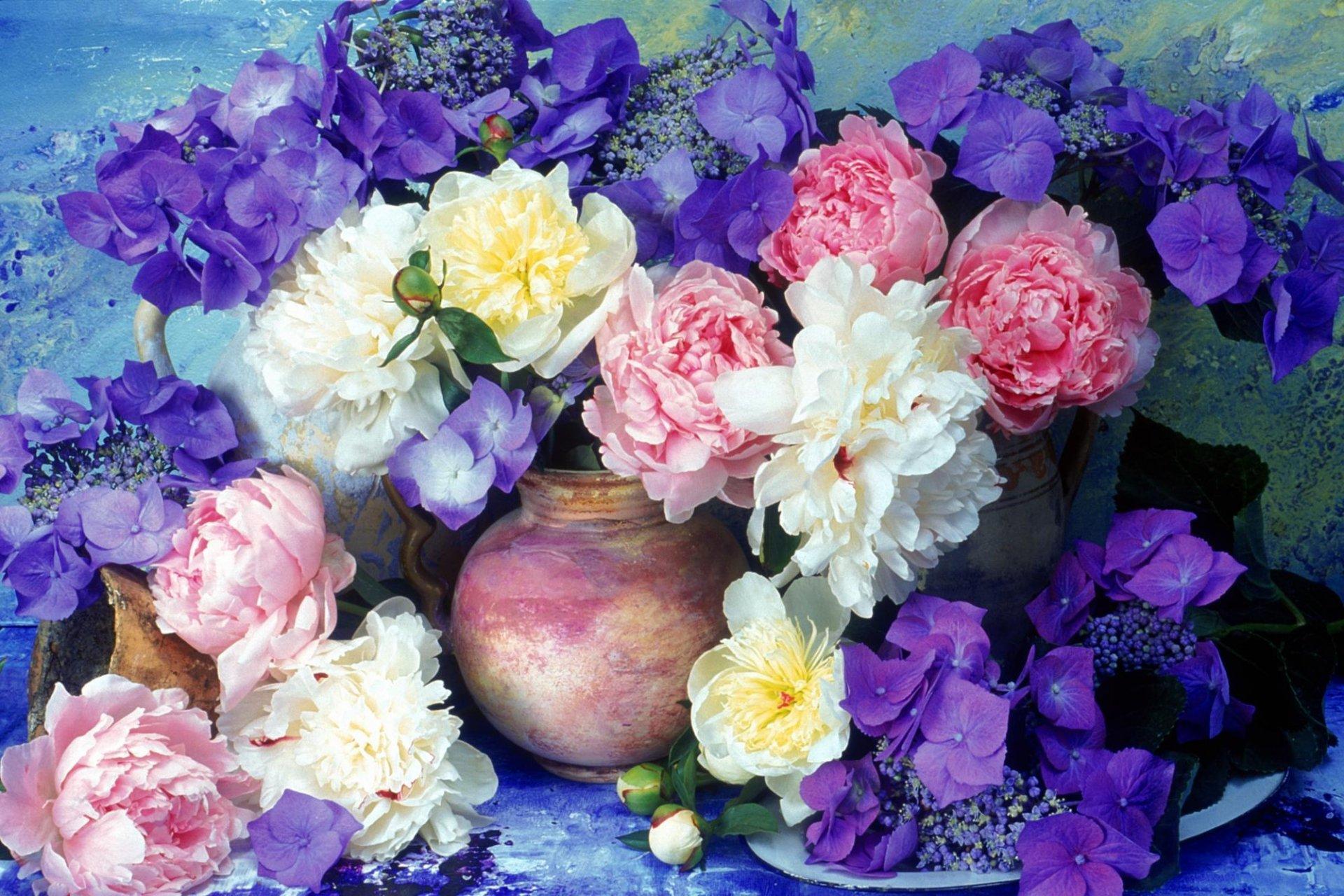 Скачать обои на рабочий стол букеты цветов