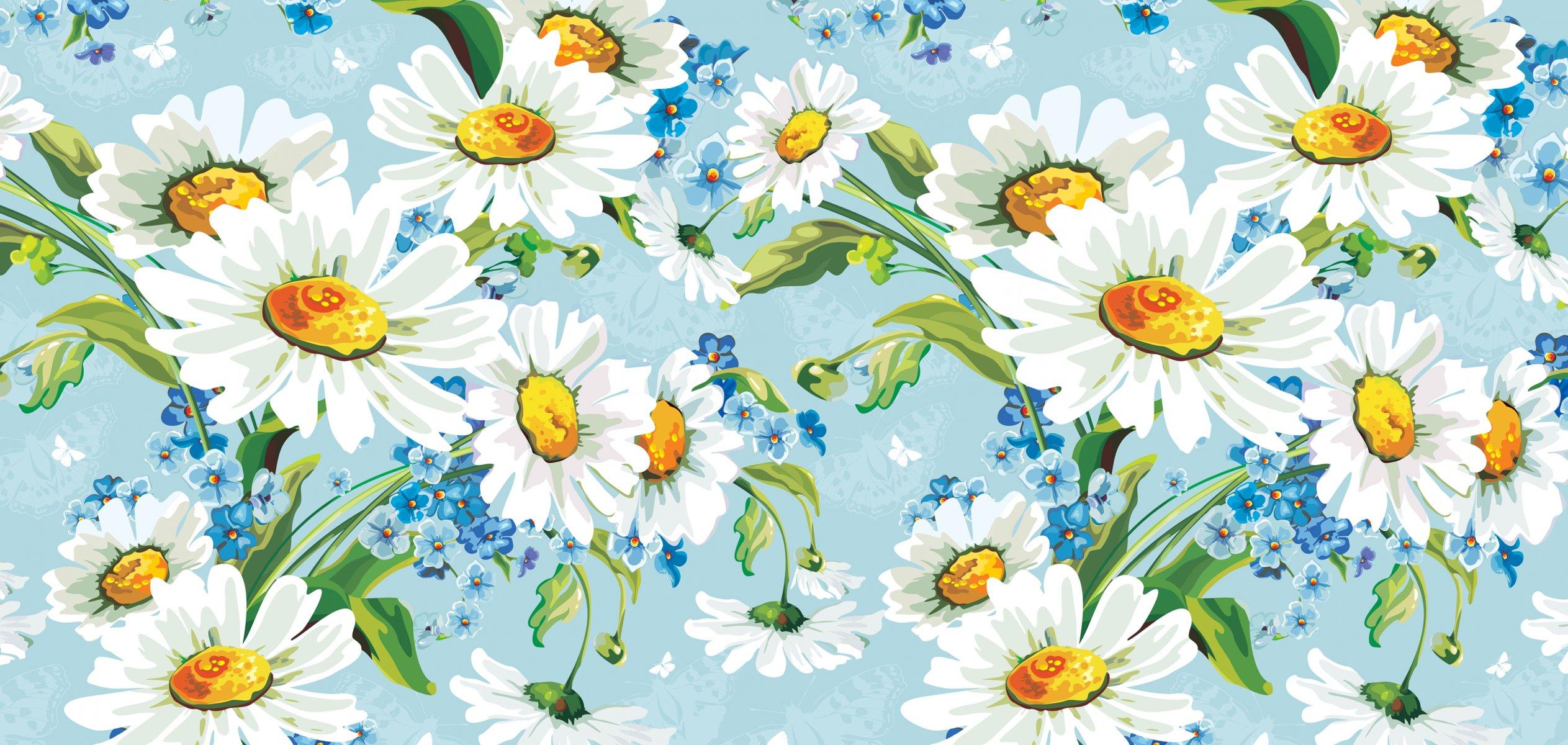 Открытка с ромашками картинка, цветок рисунок стих