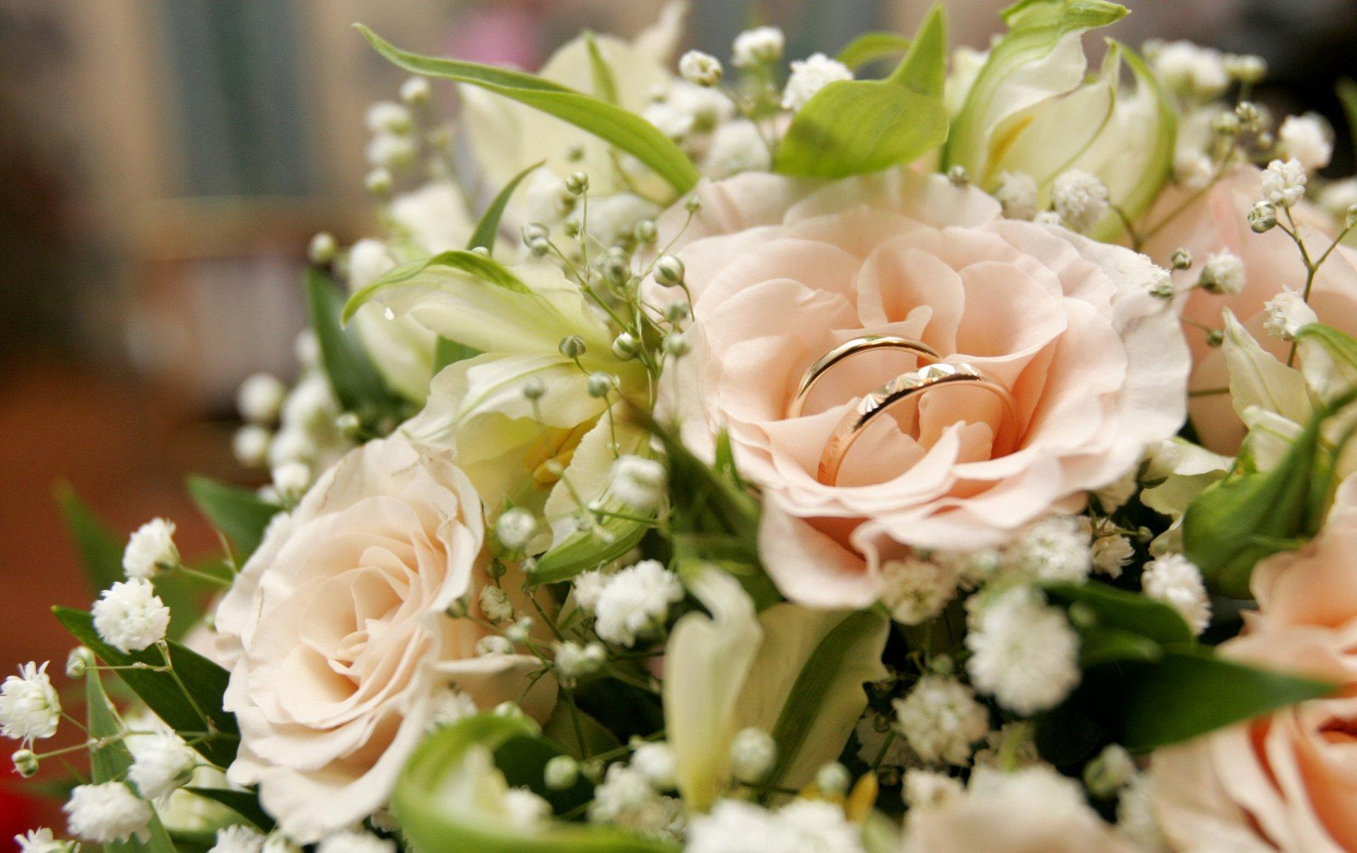 Для, открытки с цветами свадебные