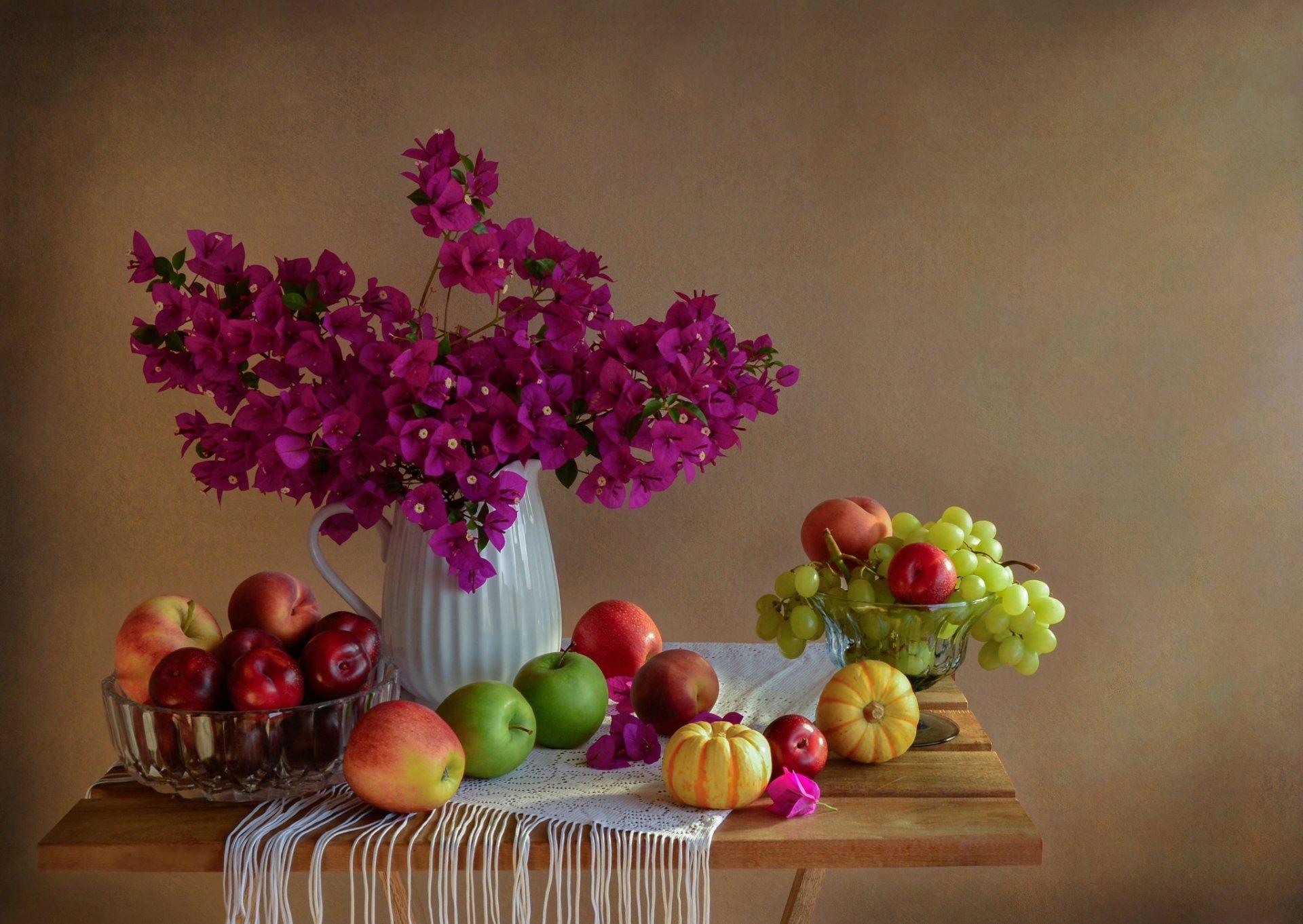 несколько картинки натюрморт фрукты того, заметен