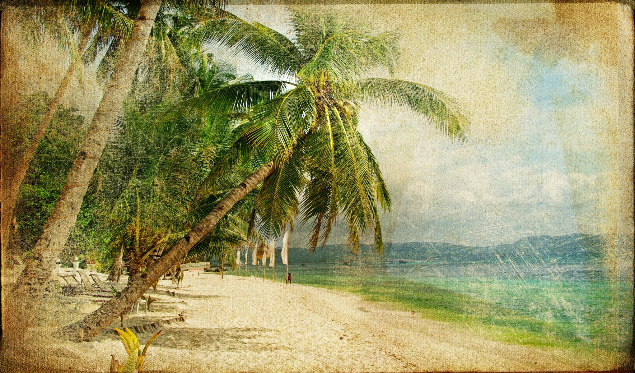Картинки ретро пейзаж, красивые открытки