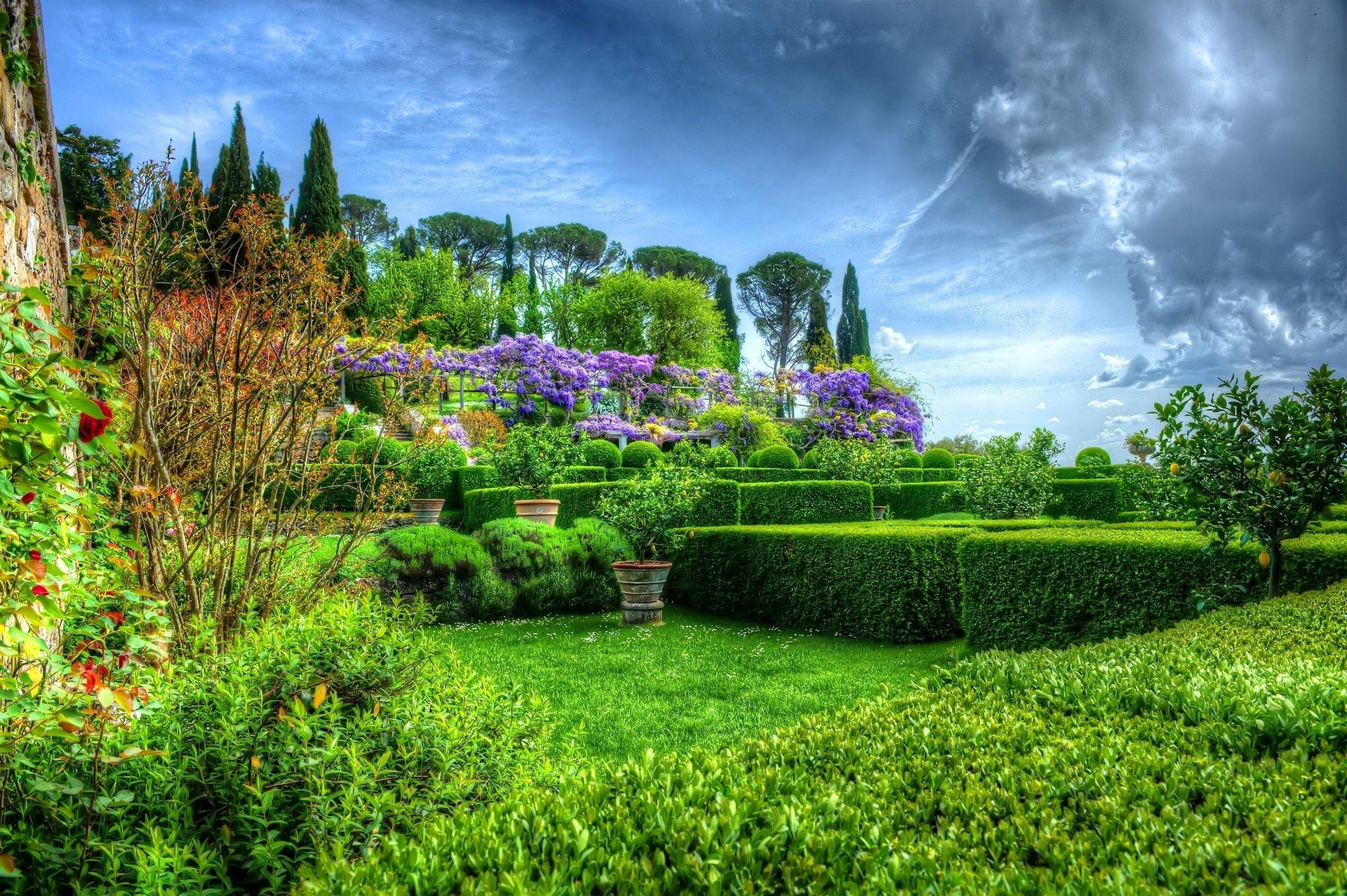 красивые парки мира фото на рабочий стол тому