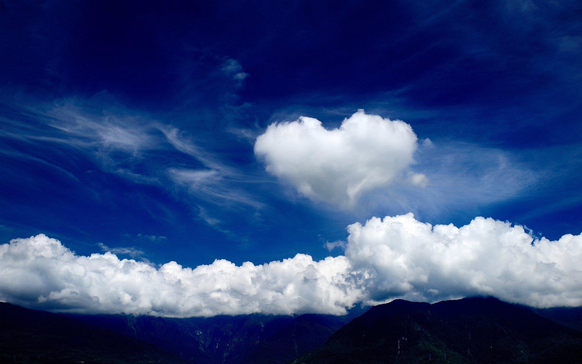 Красивые открытки облака