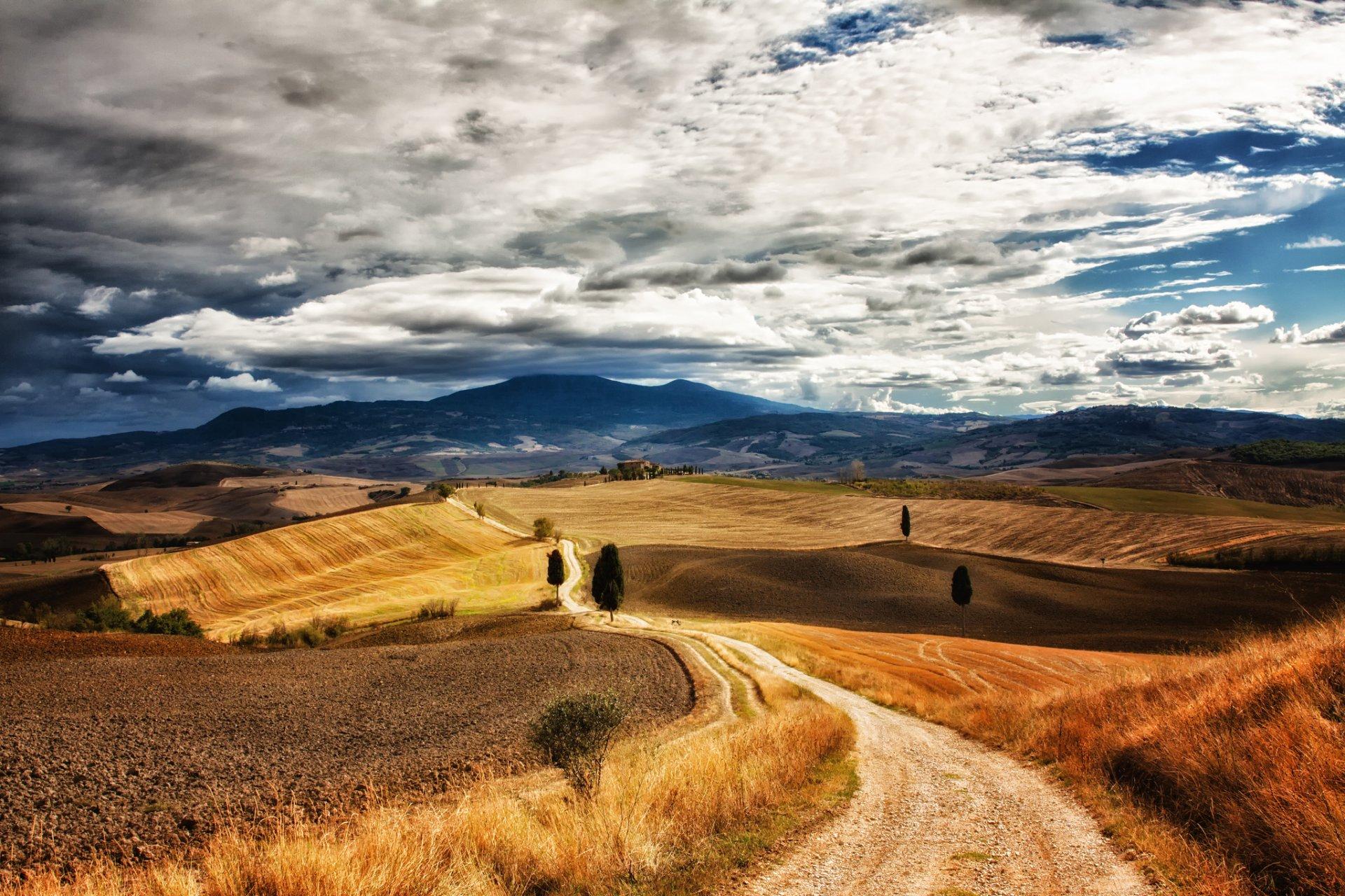 дорога степь небо загрузить