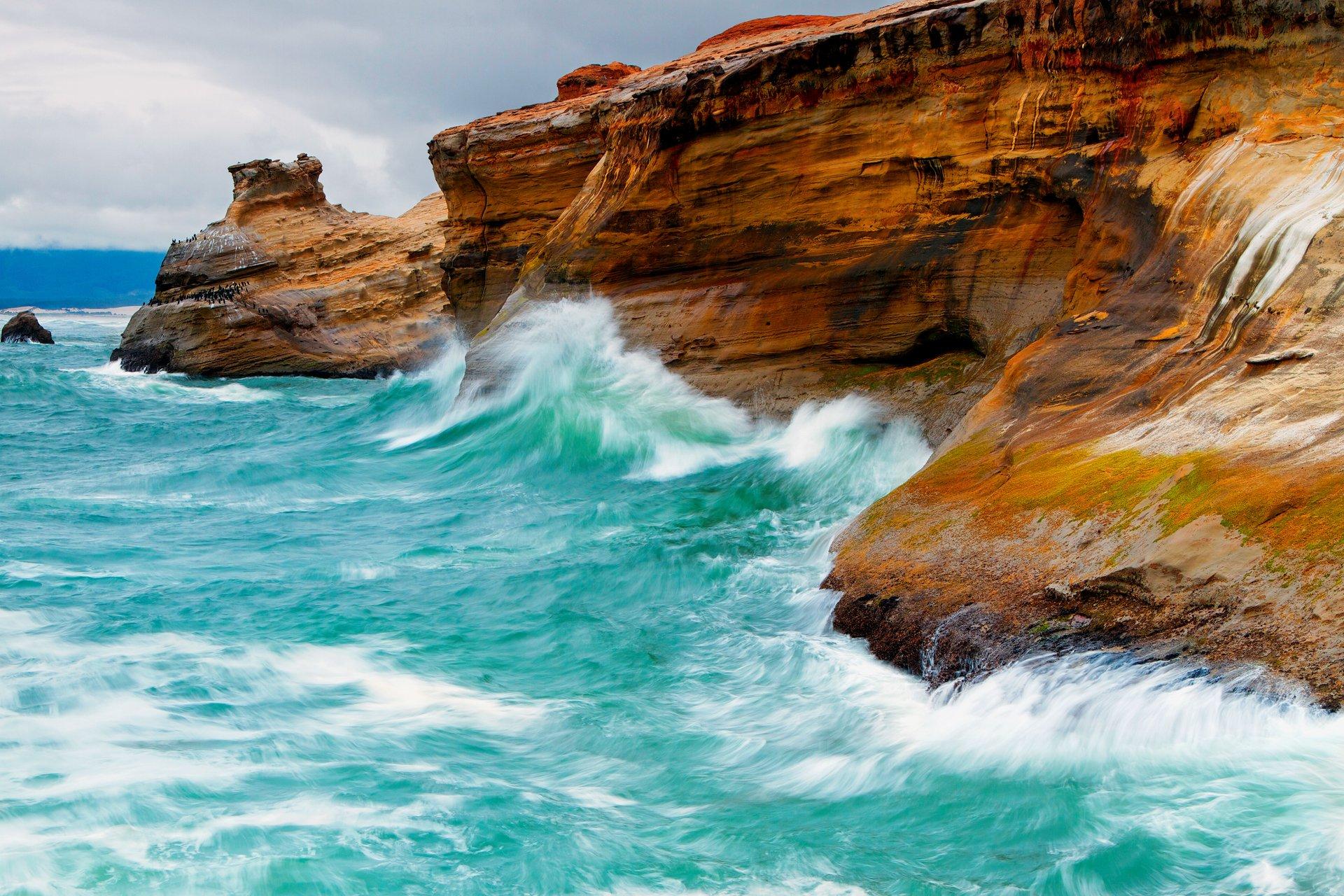 морские скалы фото мой