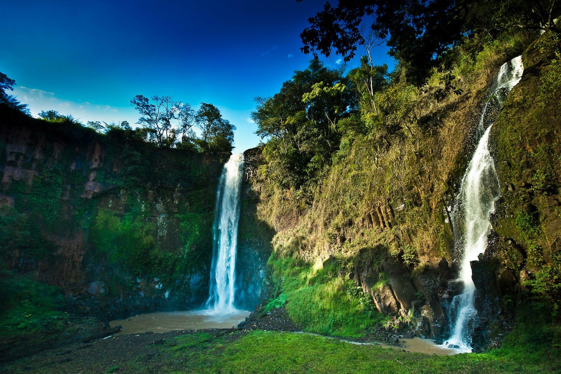 картинки высоких водопадов
