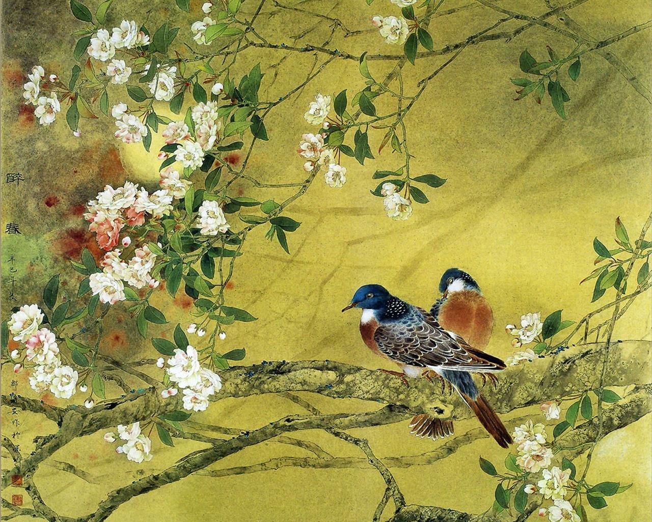 Красивые открытки с птицами 583