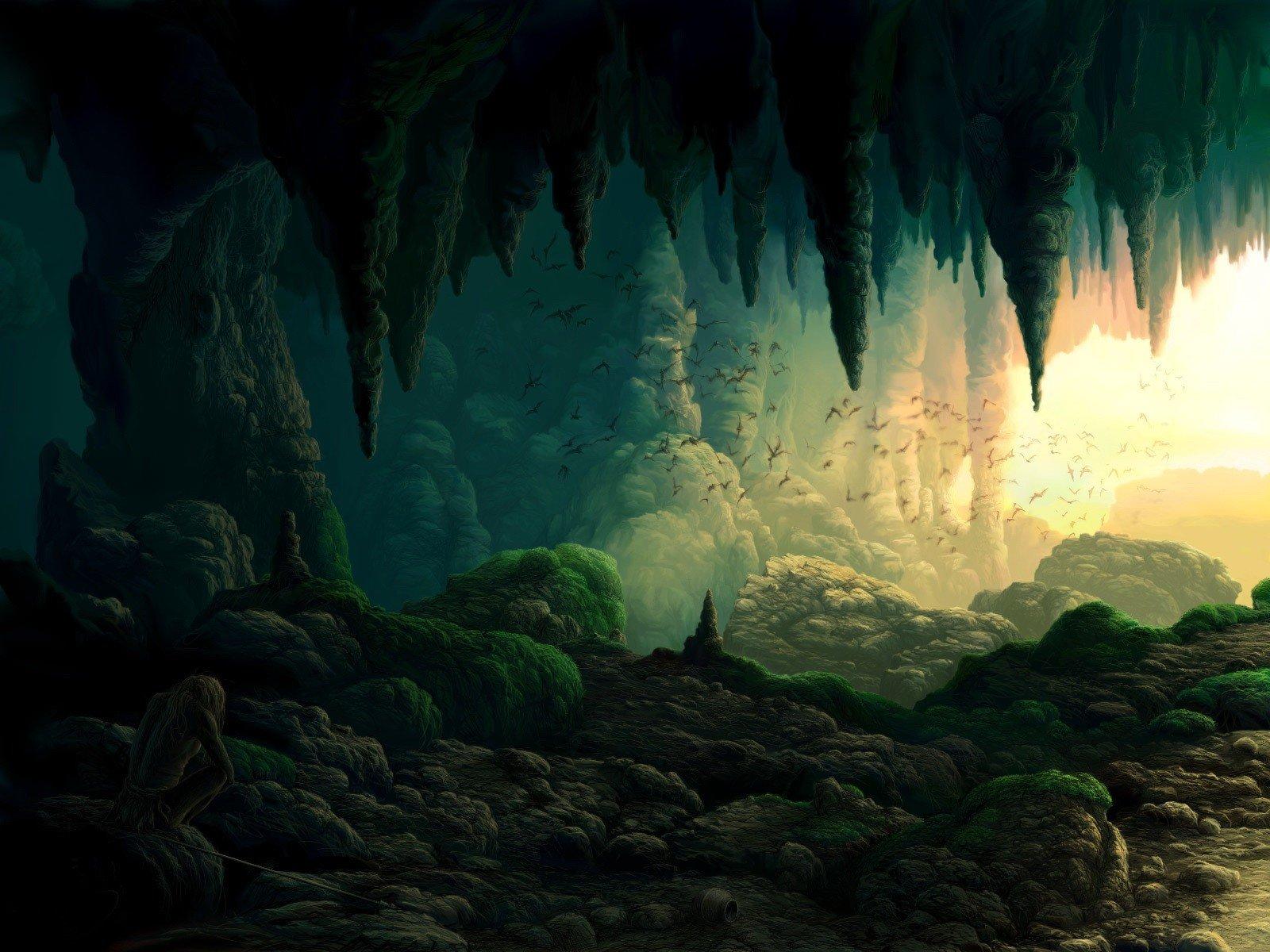 Пещеры картинки с анимацией