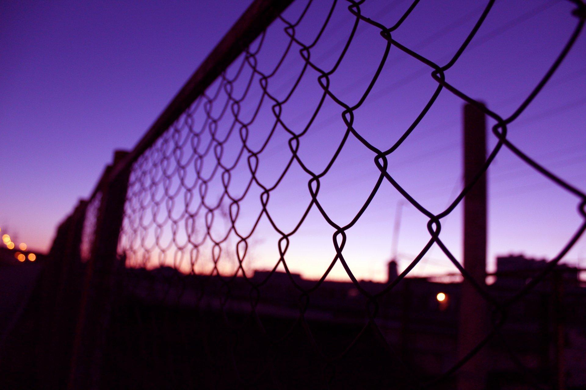 Обои забор, сетка. Разное foto 15