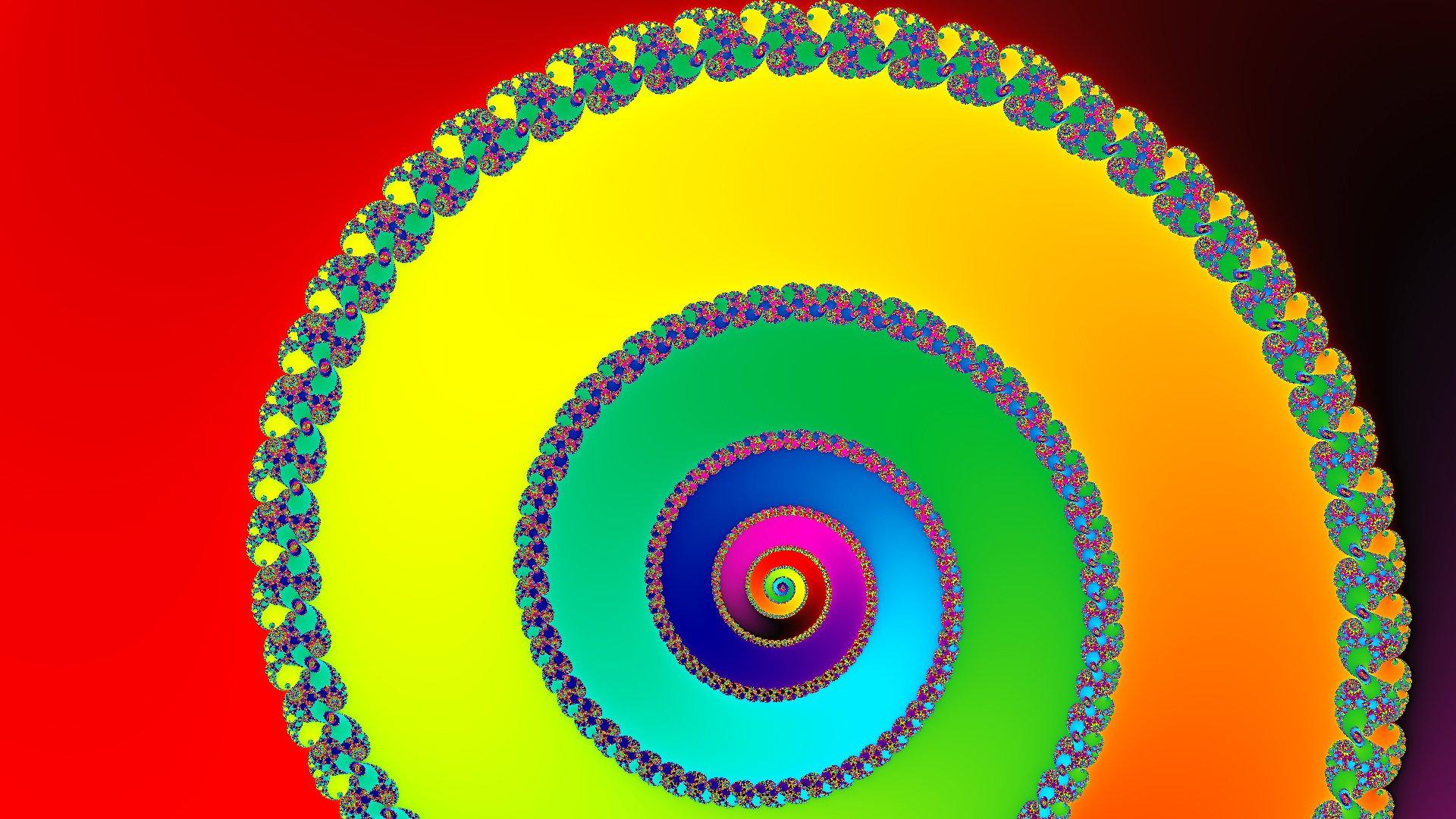 Обои спираль, узор, свет, Цвет. Абстракции foto 10