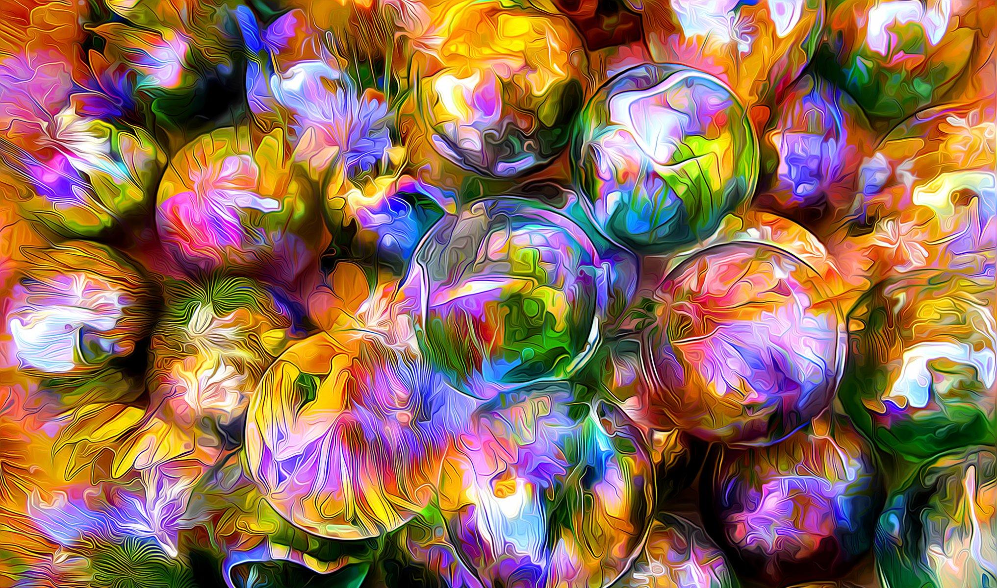 Красивые яркие разноцветные картинки