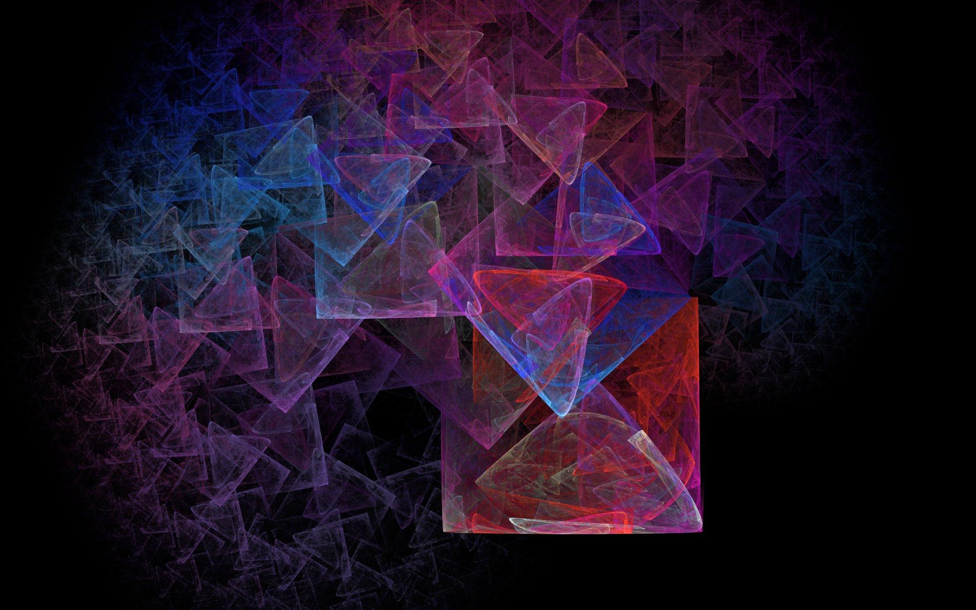 Обои фрактал, Цвет, узор. Абстракции foto 17