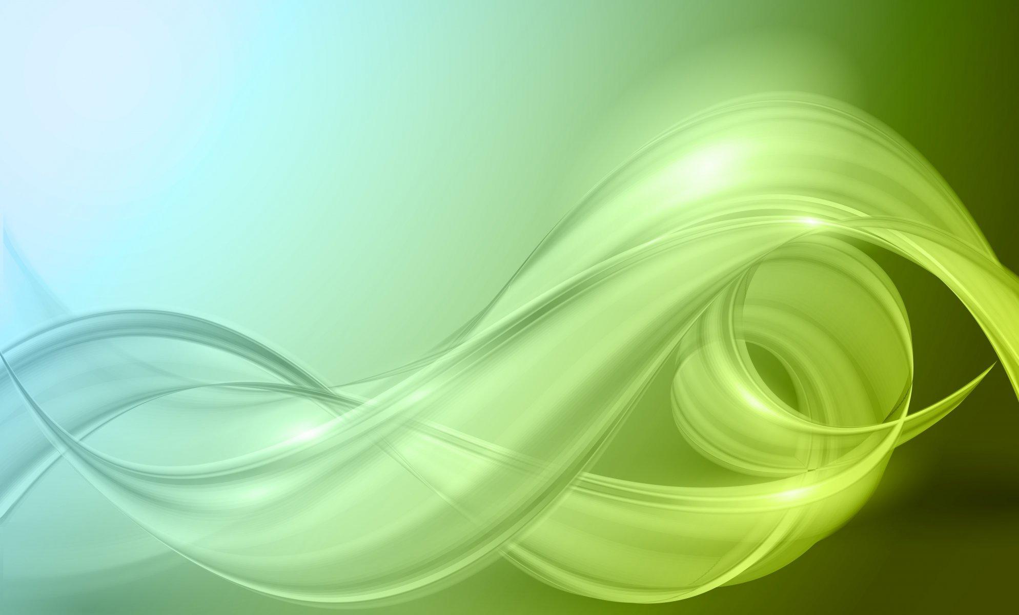 Фон абстракция зеленая