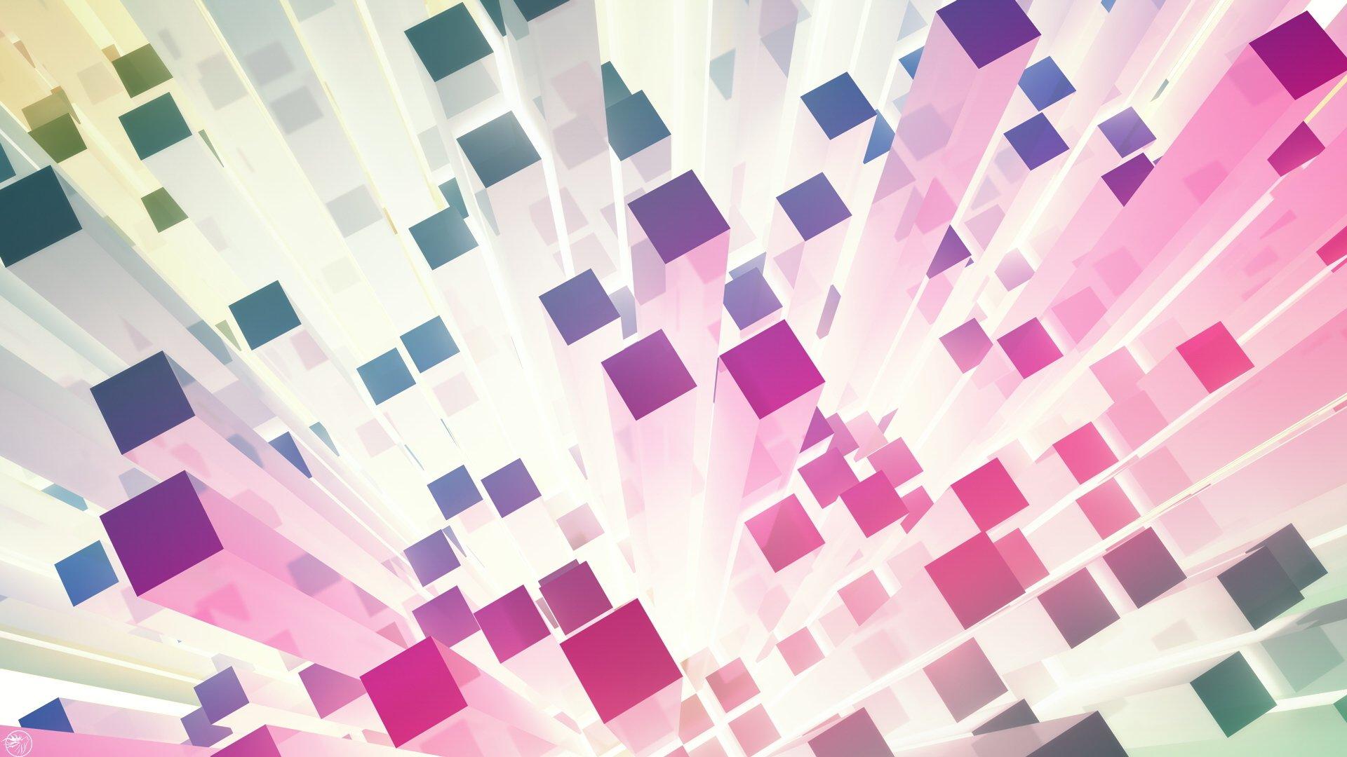 Обои полосы, фигуры, абстракции, Квадраты. Абстракции foto 8