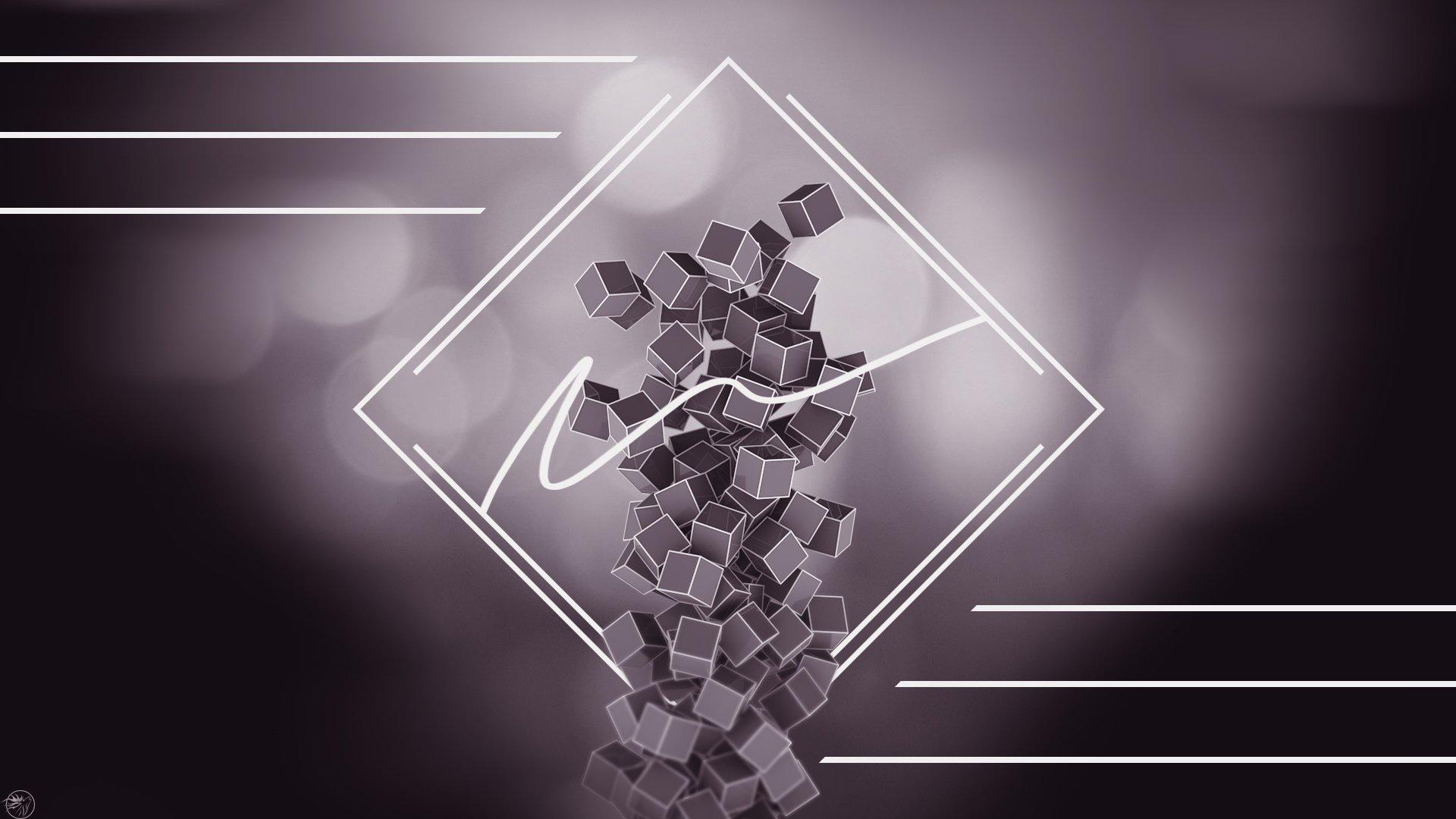 Обои на телефон темные вертикальные абстракции треугольники молнии