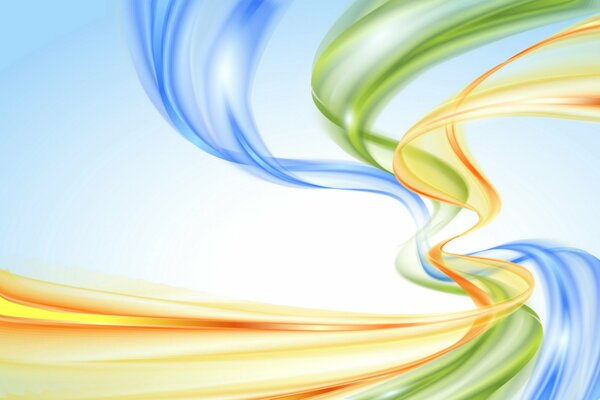abstract background rainbow colors creative waves фон радуга абстракция пастель