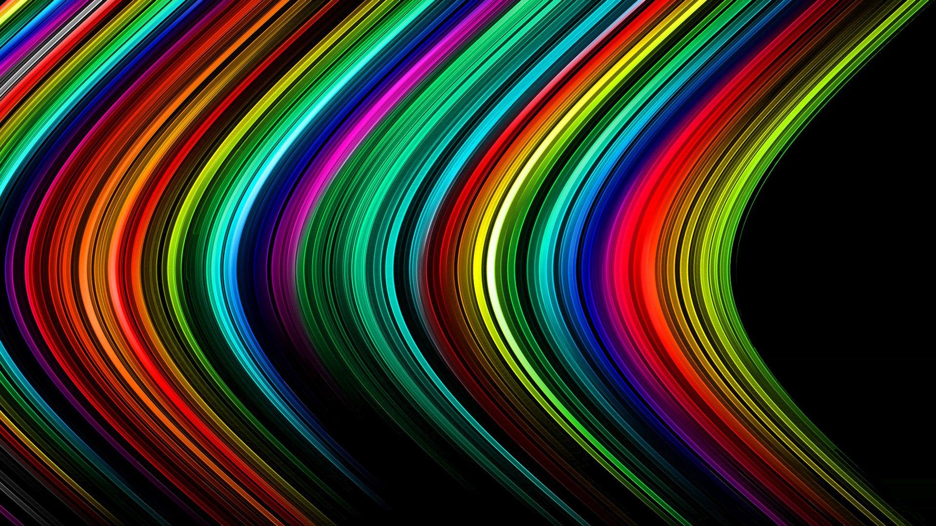 Обои лучи, полоса, свет. Абстракции foto 15