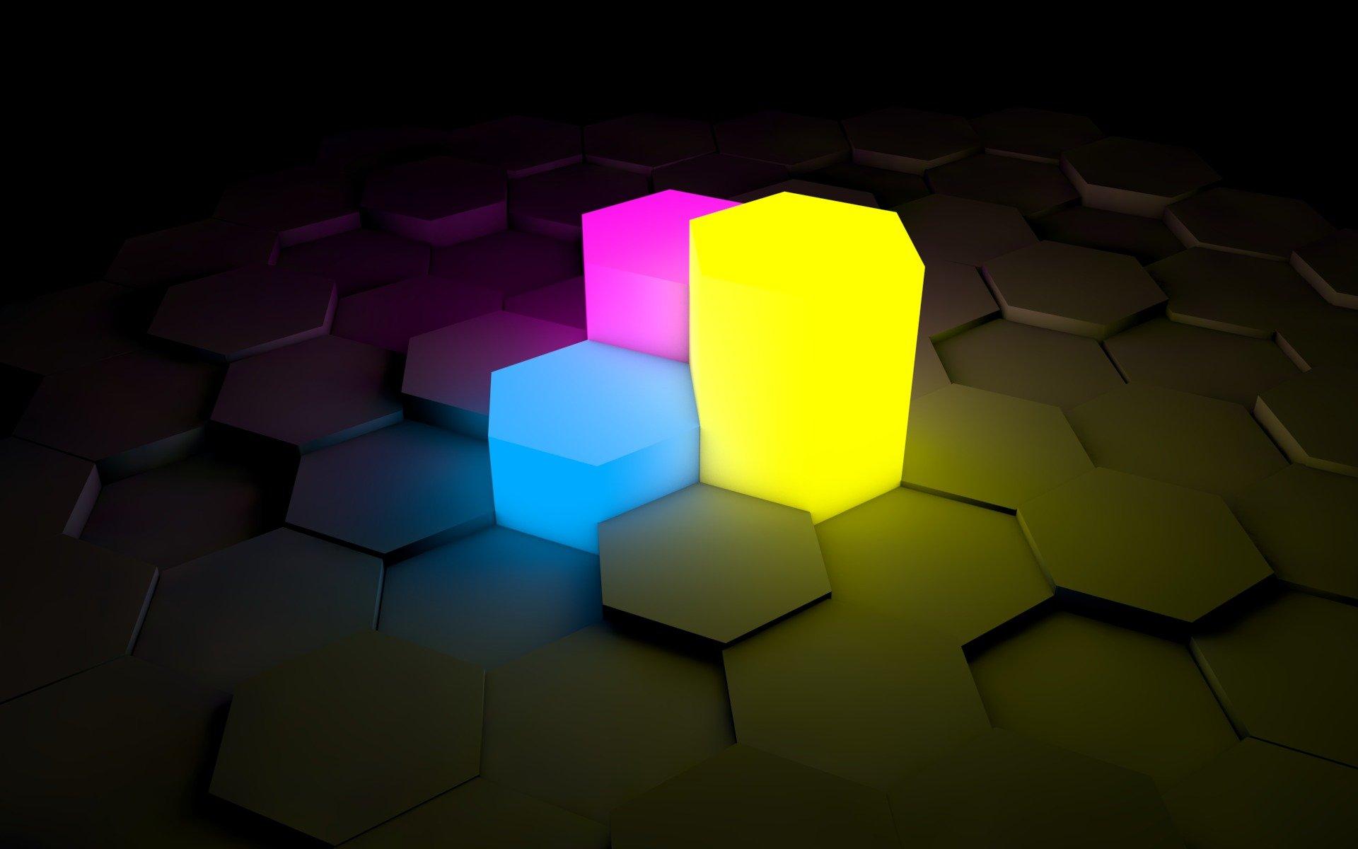 Фигуры свет цвета  № 3528312 без смс