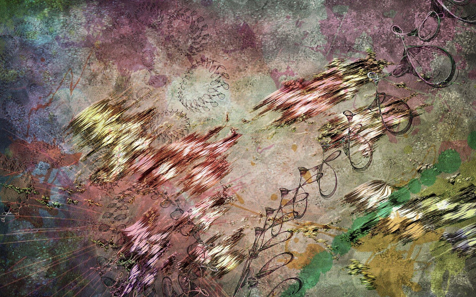 Обои потеки, Abstract, мокрые. Абстракции foto 12